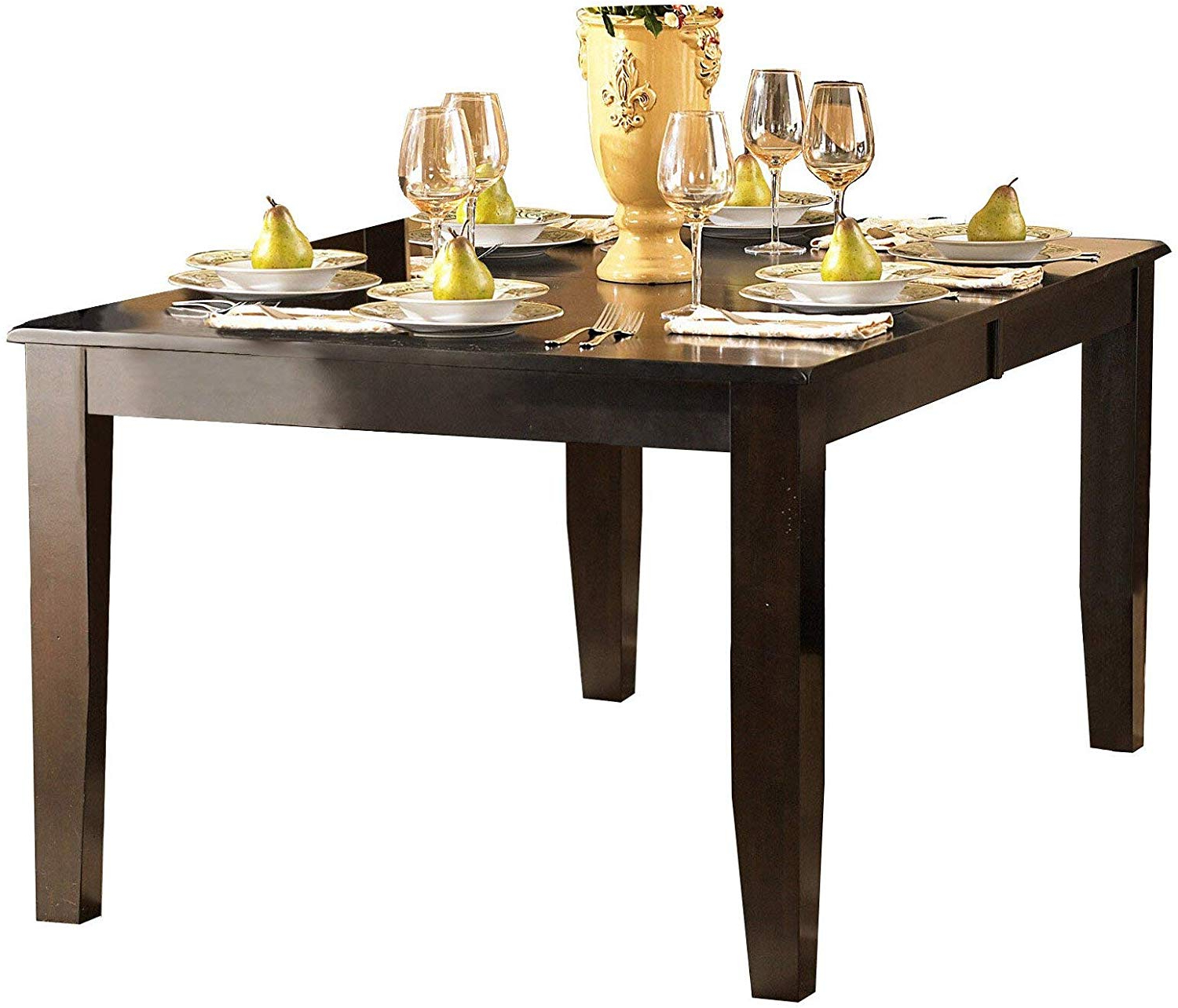 Famous Artefac Contemporary Casual Dining Tables Within Amazon – Creekmore Casual Modern 8pc Dining Set Table, (View 18 of 30)