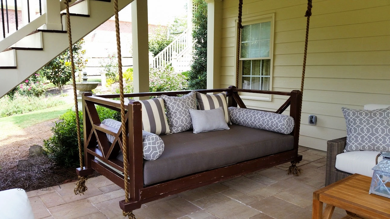 Famous Daybed Porch Swing Plans Exclusive Furniture Free Mattress In Day Bed Porch Swings (Gallery 27 of 30)