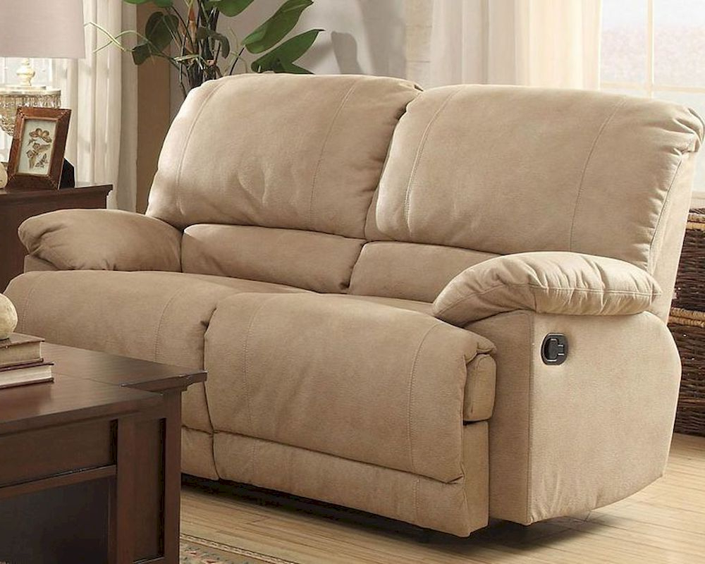 Famous Double Glider Reclining Loveseat Elsiehomelegance El With Regard To Double Glider Loveseats (View 17 of 30)