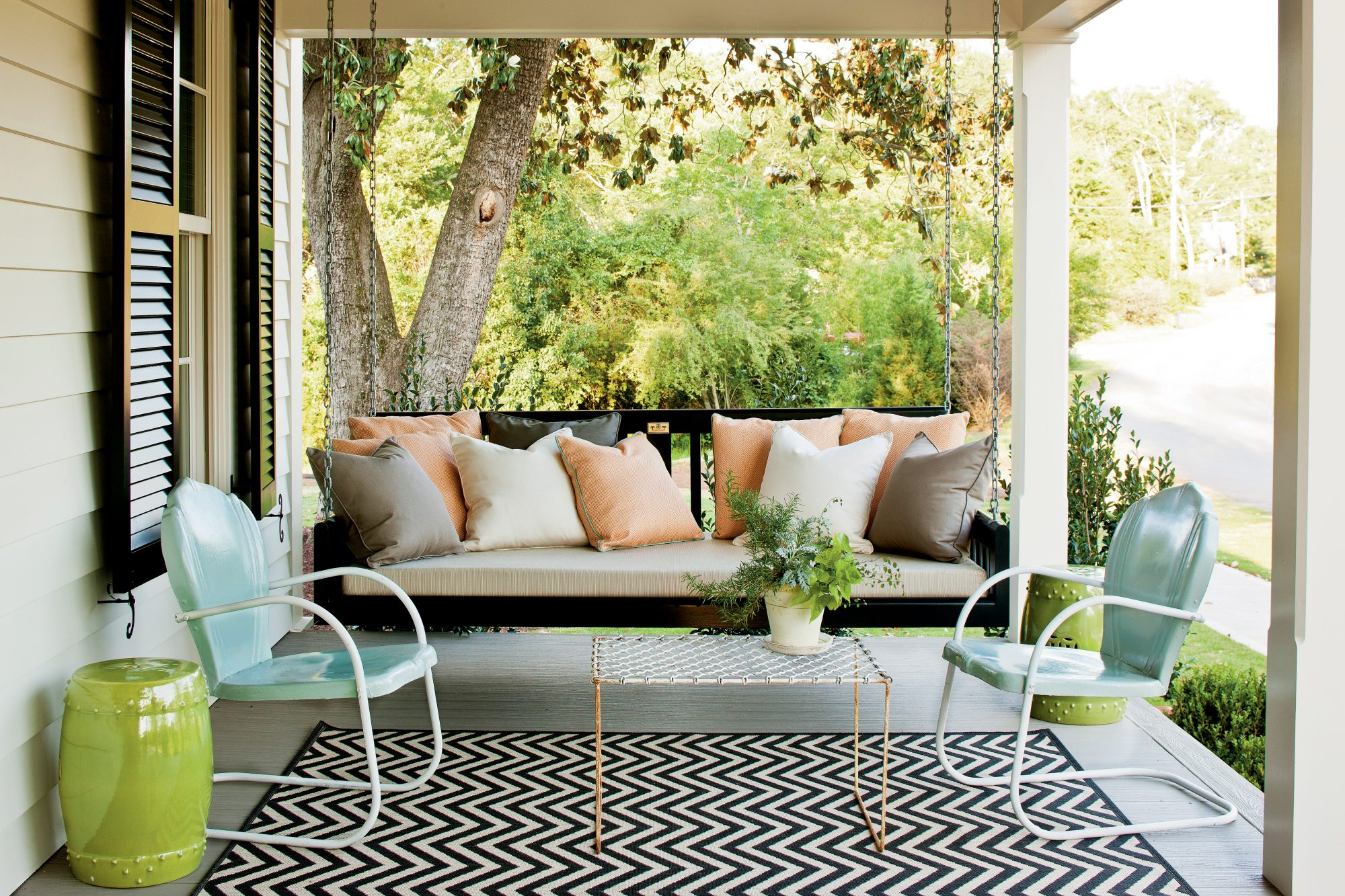 Famous Sit A Spell! 10 Peaceful Porch Swings With Regard To Outdoor Porch Swings (View 18 of 30)