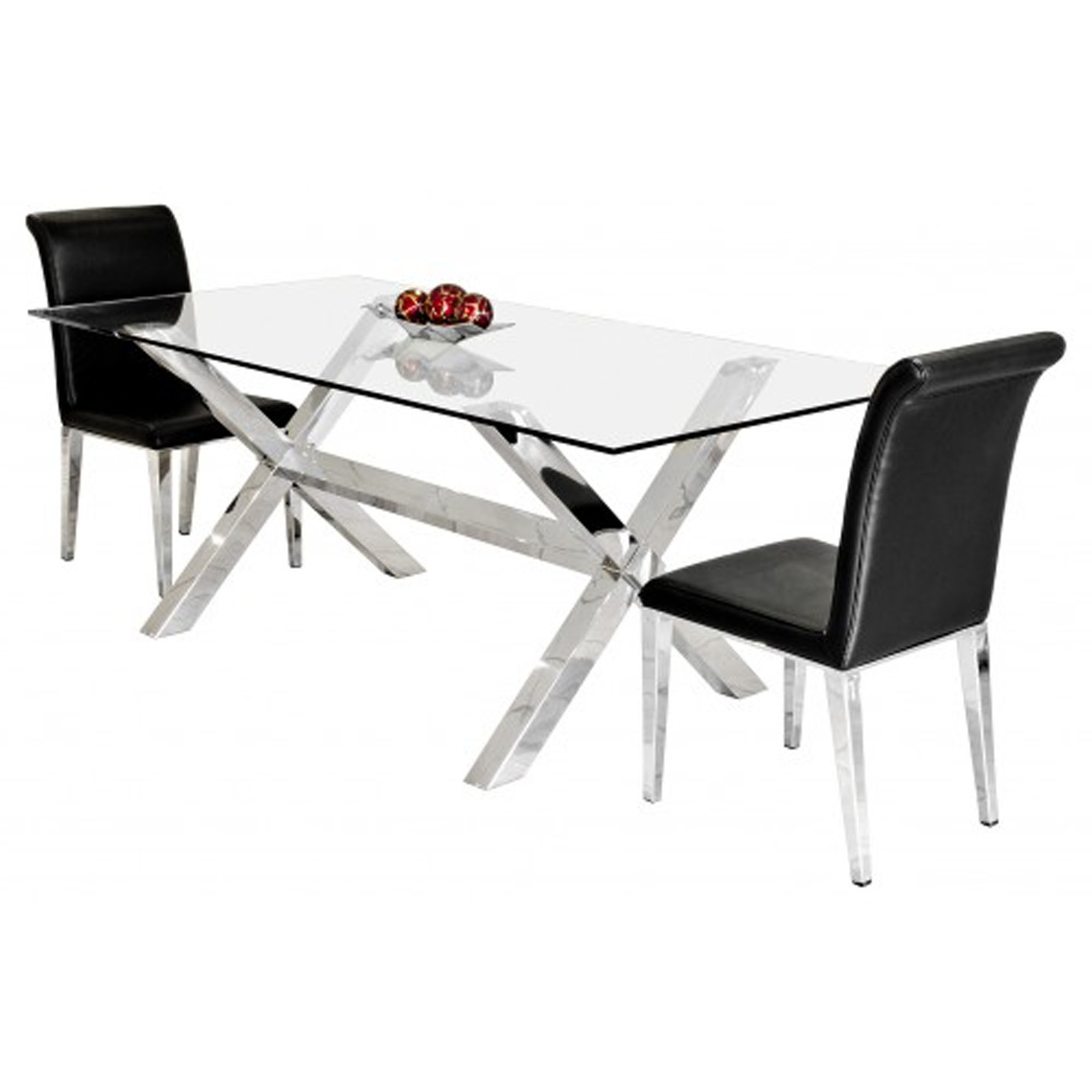 Fashionable Crossly Rectangular Dining Table Regarding Rectangular Dining Tables (View 5 of 30)
