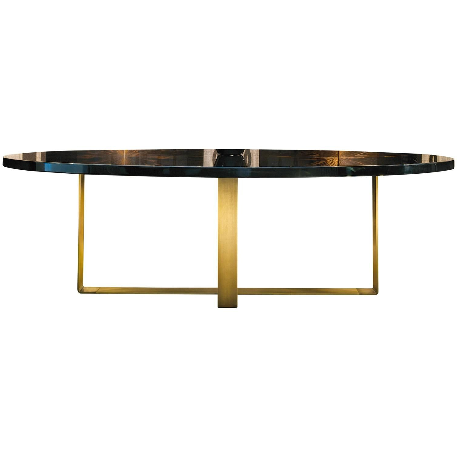Fashionable Dom Edizioni Wood,brass Elliptical,round,square,rectangular For Dom Square Dining Tables (Gallery 6 of 30)