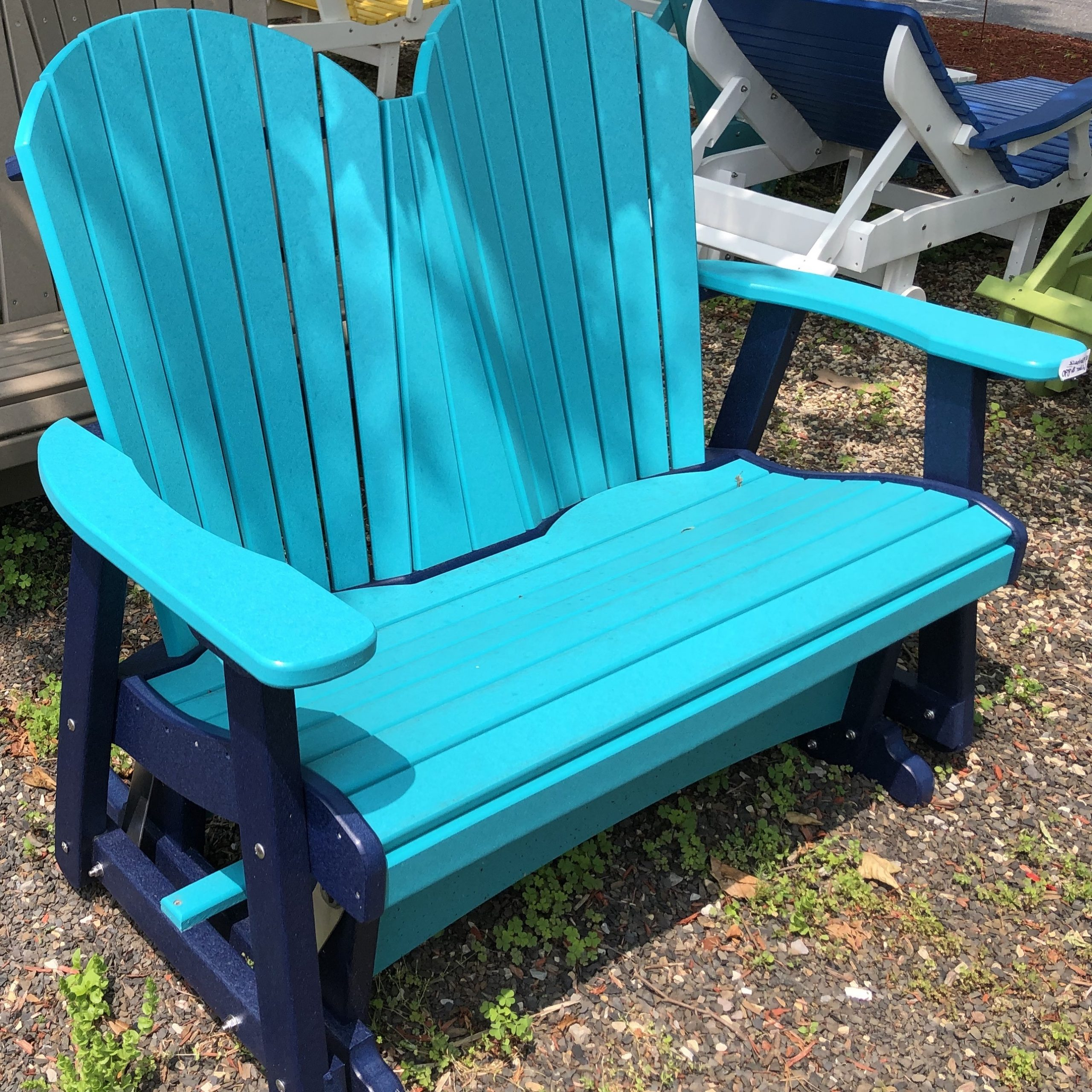 Fashionable Fanback Glider Benches In Chairs (Gallery 30 of 30)