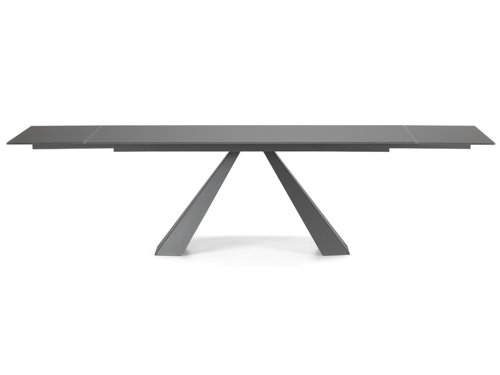 Fashionable Modern Glass Top Extension Dining Tables In Stainless Inside Eliot Drive Dining Table – Contemporary Modern Italian (View 10 of 30)