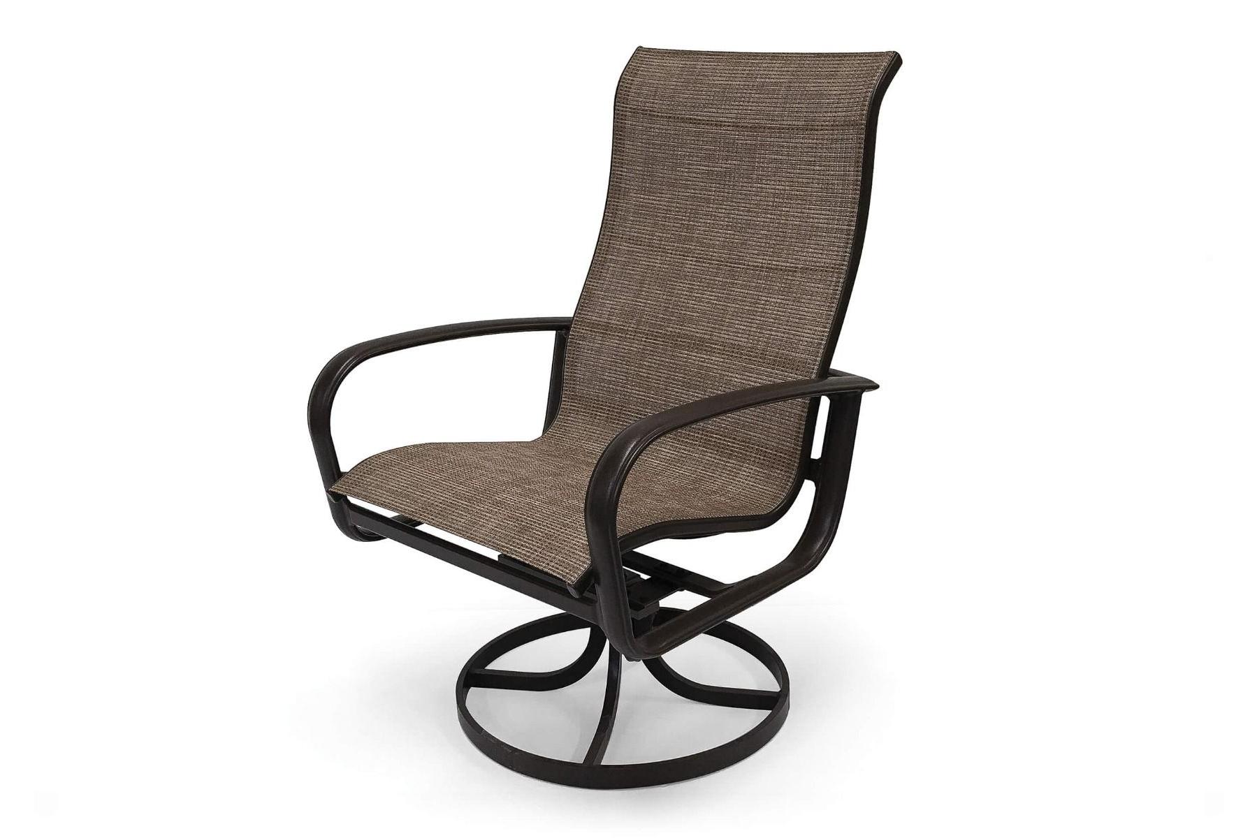 Fashionable Savoy Sling Ultimate High Back Swivel Tilt Dining Chair (2Pk) Regarding Sling High Back Swivel Chairs (Gallery 18 of 30)