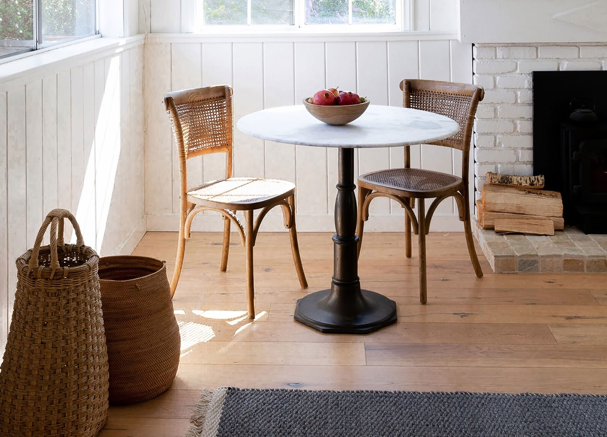 Fashionable Stories – Styling Series: How To Pair Dining Tables And Chairs Pertaining To Dining Tables In Smoked/seared Oak (View 18 of 30)