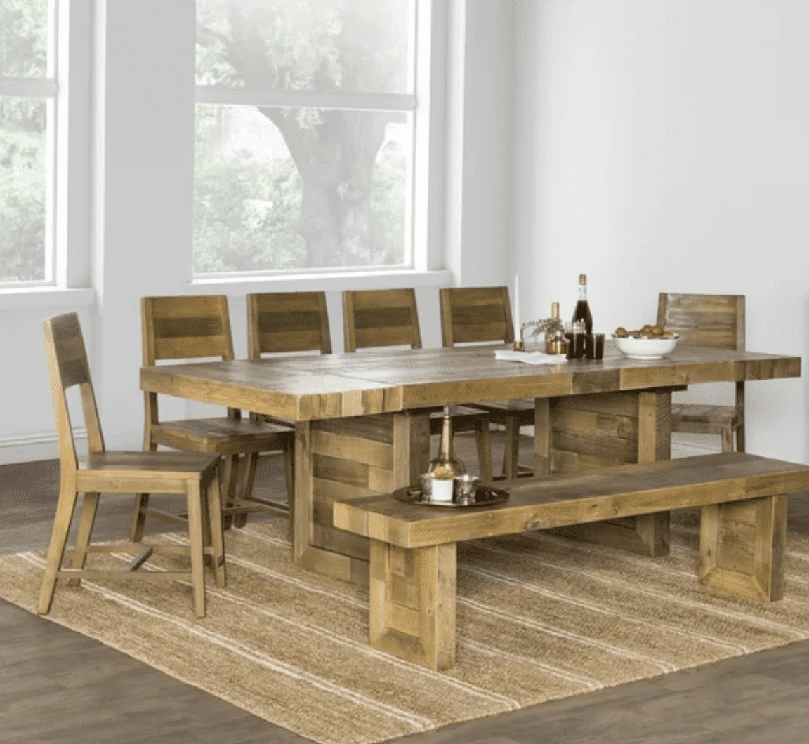 Fashionable The 9 Best Dining Room Tables Of 2020 Within Rustic Mid Century Modern 6 Seating Dining Tables In White And Natural Wood (View 4 of 30)