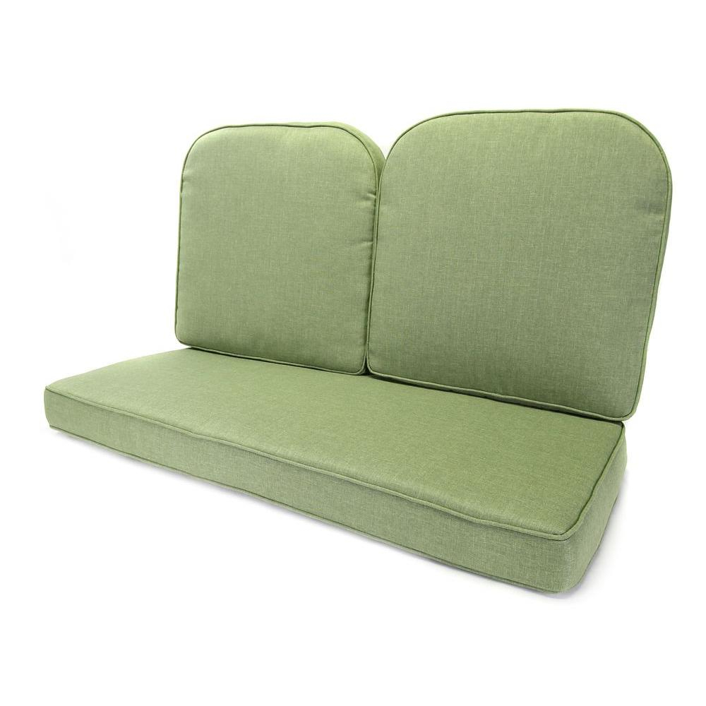 Fashionable Tropitone Ravello Replacement Cushions 660916ch Small In Loveseat Glider Benches With Cushions (View 24 of 30)
