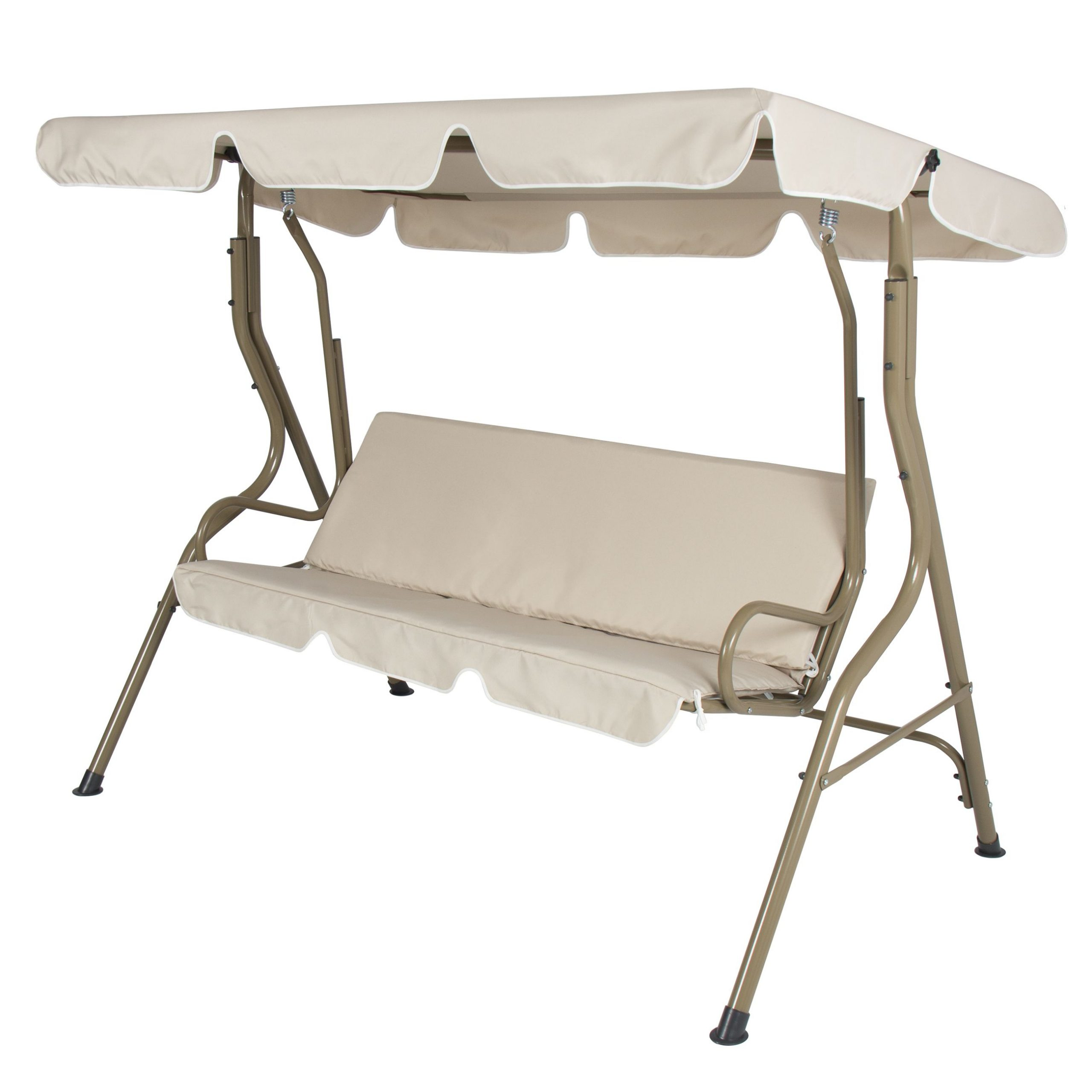 Favorite 2 Person Outdoor Convertible Canopy Swing Gliders With Removable Cushions Beige With Best Choice Products 2 Person Outdoor Large Convertible (Gallery 2 of 30)