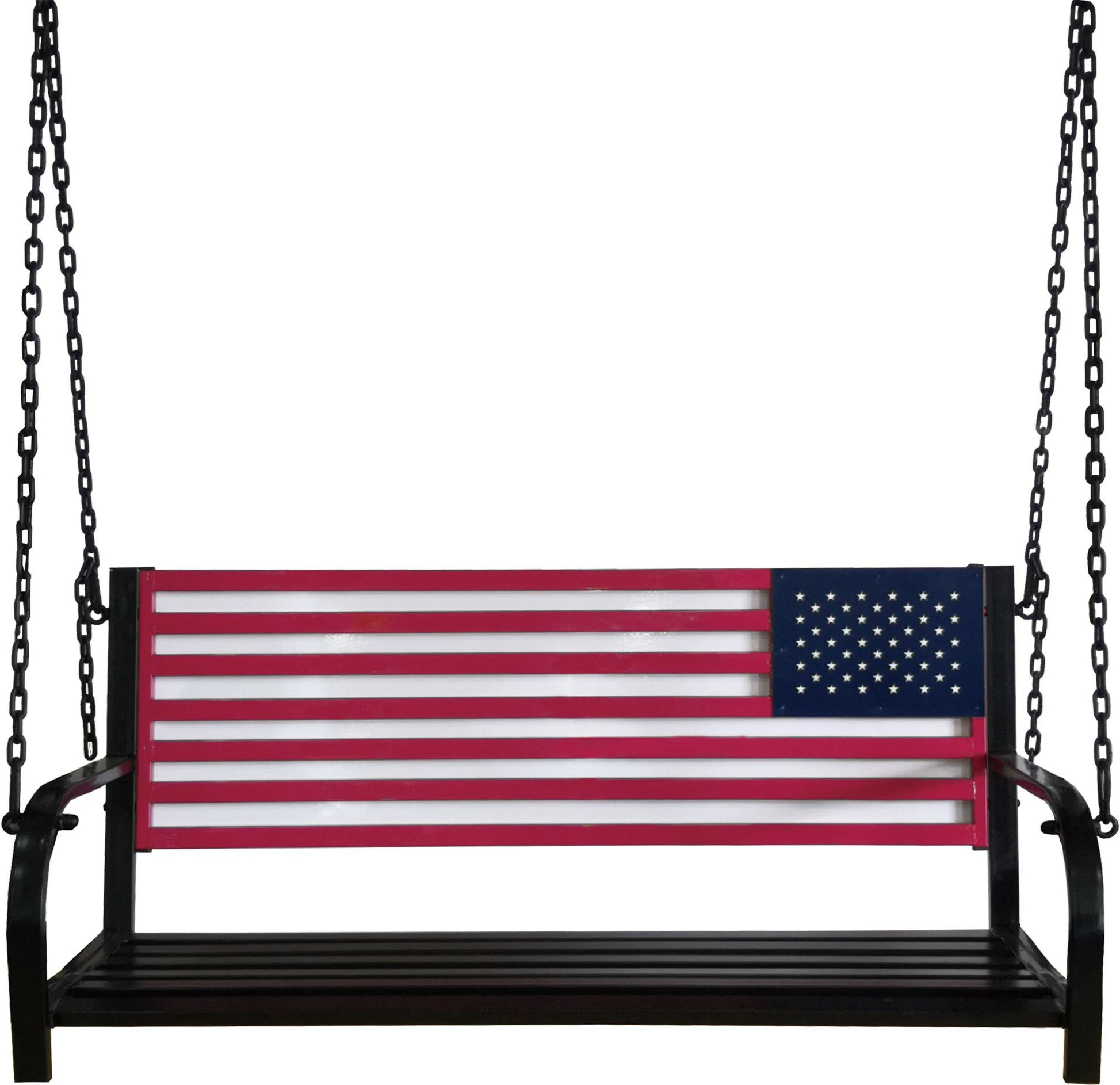 Favorite American Flag Porch Swing Within American Flag Porch Swings (View 16 of 30)