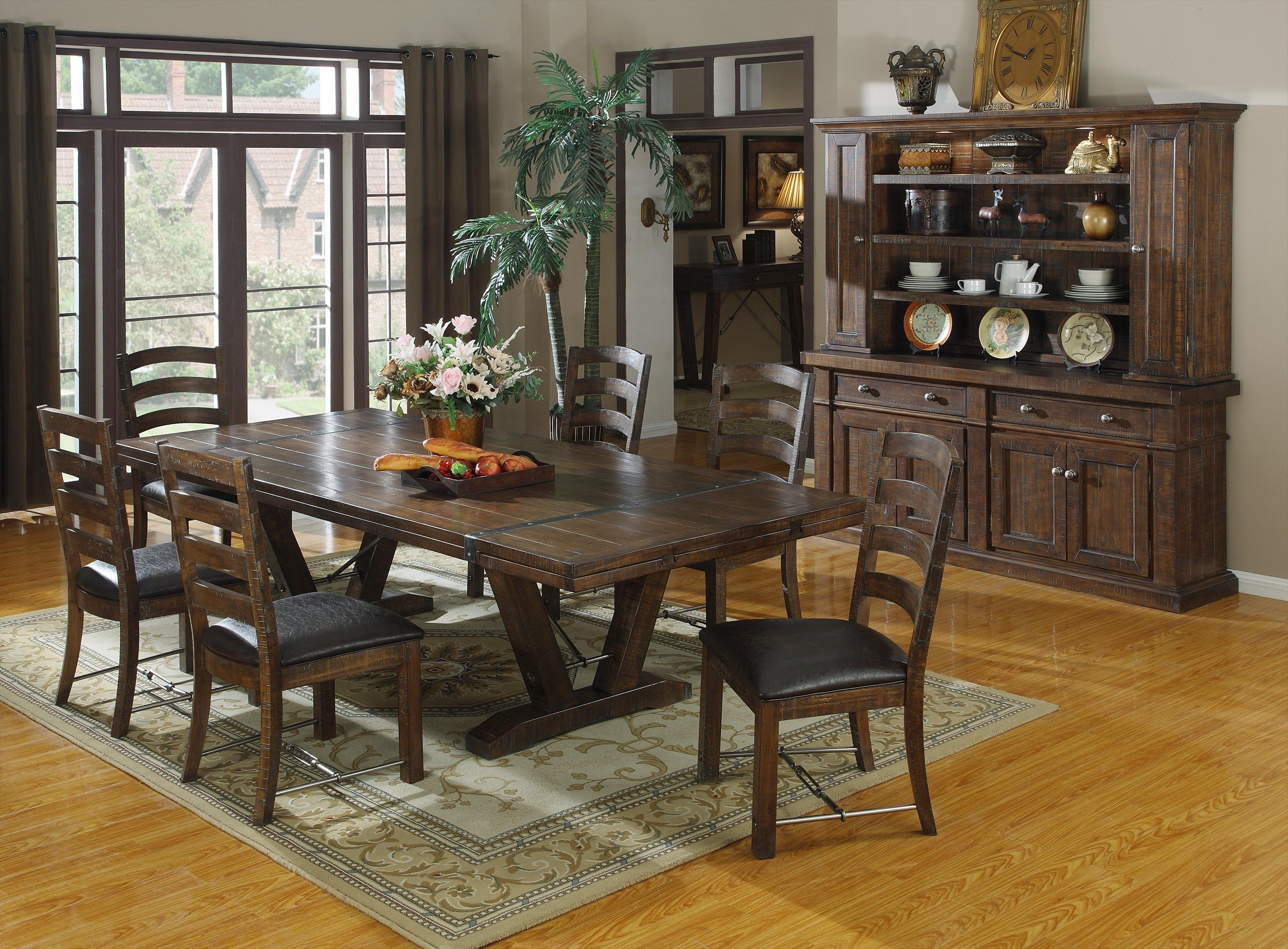 Favorite Dining Room : Formal Dining Room Ideas Together With Rustic With Rustic Pine Small Dining Tables (Gallery 9 of 30)