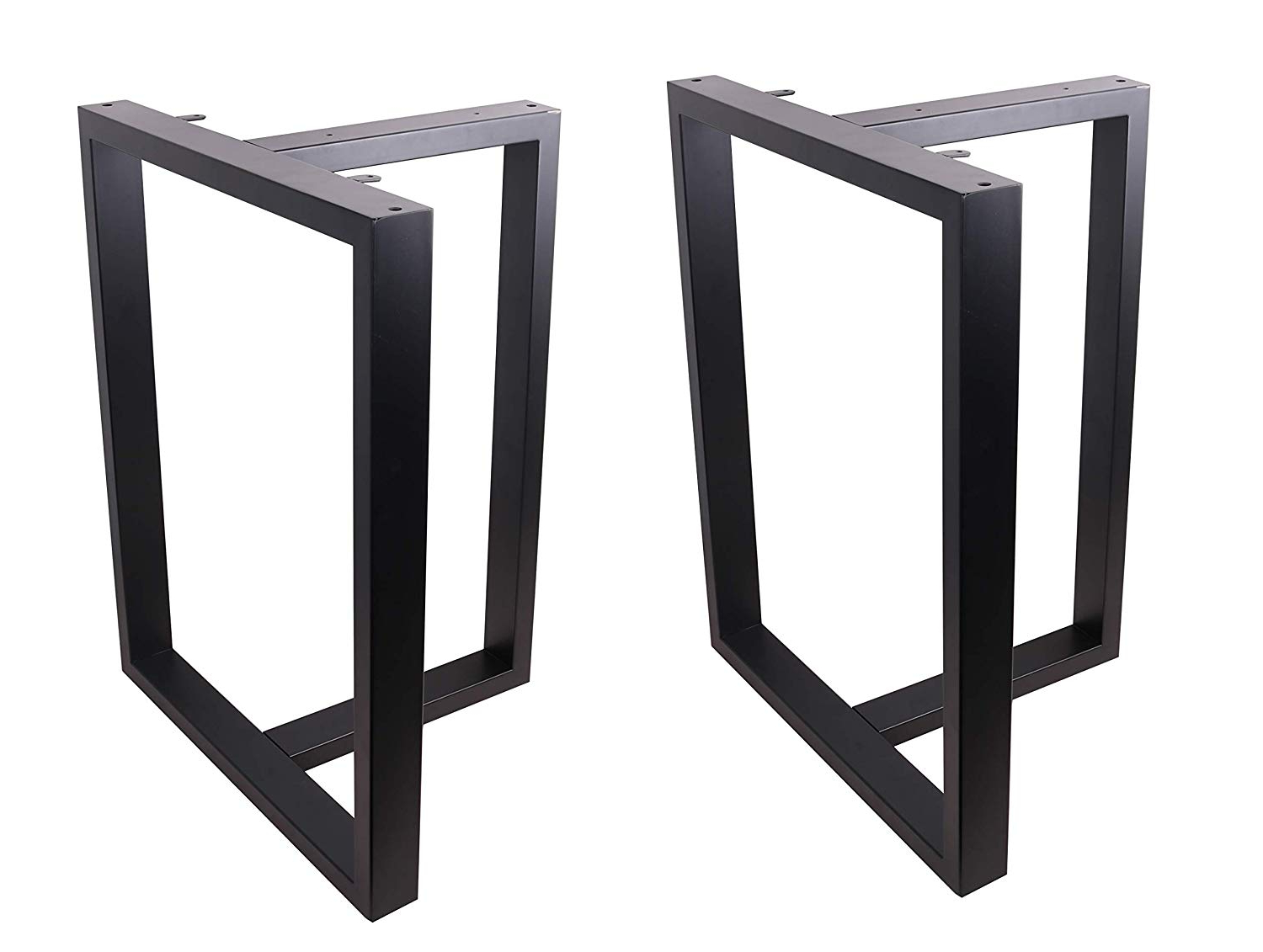 """Favorite Eclv 28"""" Dining Table Legs, T Shaped Steel Table Legs, Office Table  Legs,computer Desk Legs,industrial Kitchen Table Legs,set Of 2,black Pertaining To Dining Tables With Black U Legs (View 17 of 30)"""
