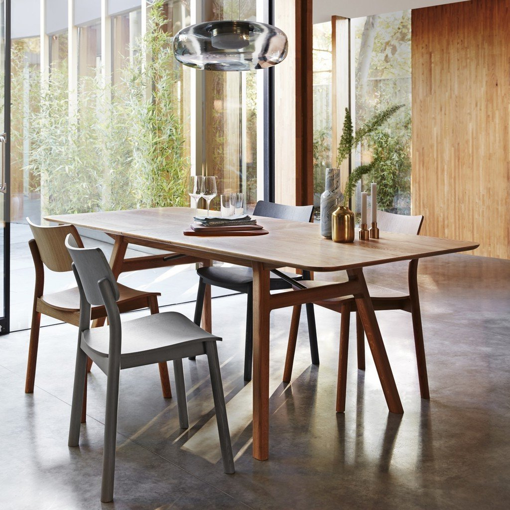 Favorite Extending Dining Tables – The Furniture Co For 8 Seater Wood Contemporary Dining Tables With Extension Leaf (View 22 of 30)