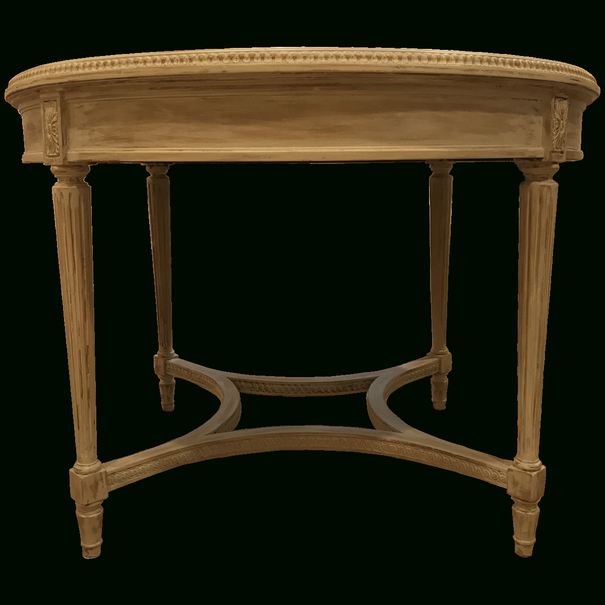 Favorite Neo Round Dining Tables Inside Traditional Antiqued Neo Classical Round Dining Table (View 6 of 30)