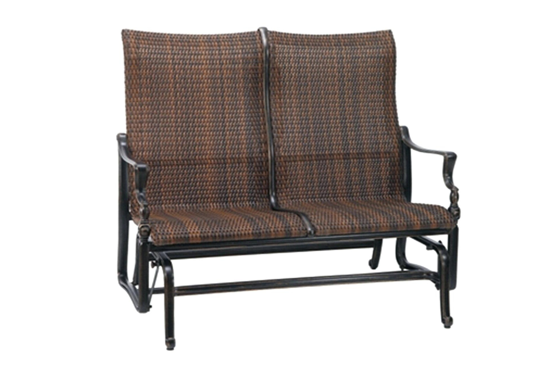 Favorite Outdoor Loveseat Gliders With Cushion Inside Outdoor Loveseat Glider – Mryoung (View 15 of 30)