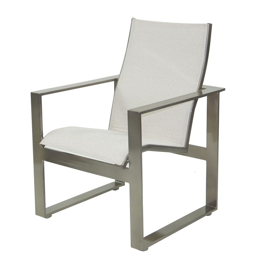 Favorite Padded Sling Double Gliders In Park Place Sling Dining Chair (Gallery 23 of 30)