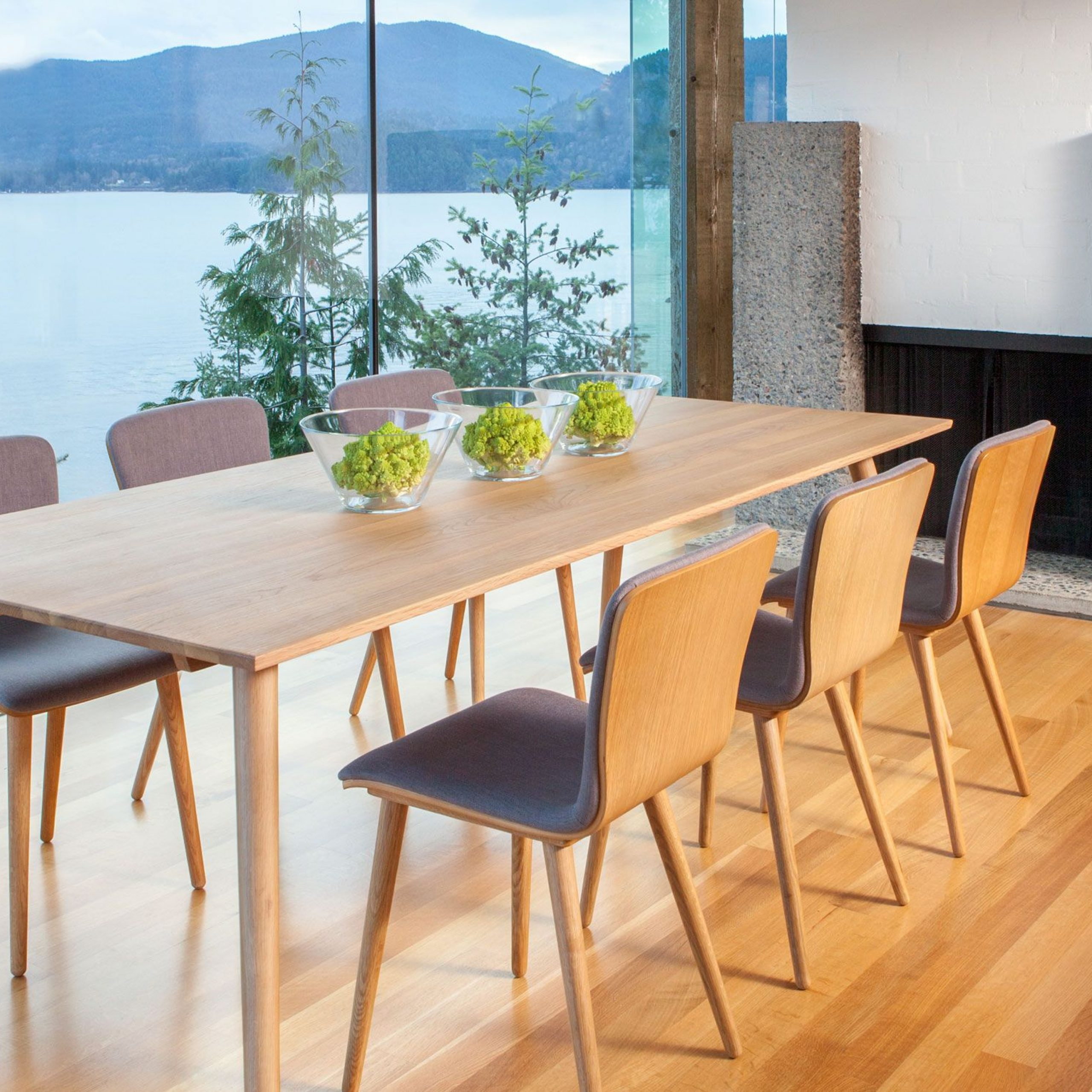 Favorite Pin On Dining Table Intended For Rustic Mid Century Modern 6 Seating Dining Tables In White And Natural Wood (View 5 of 30)