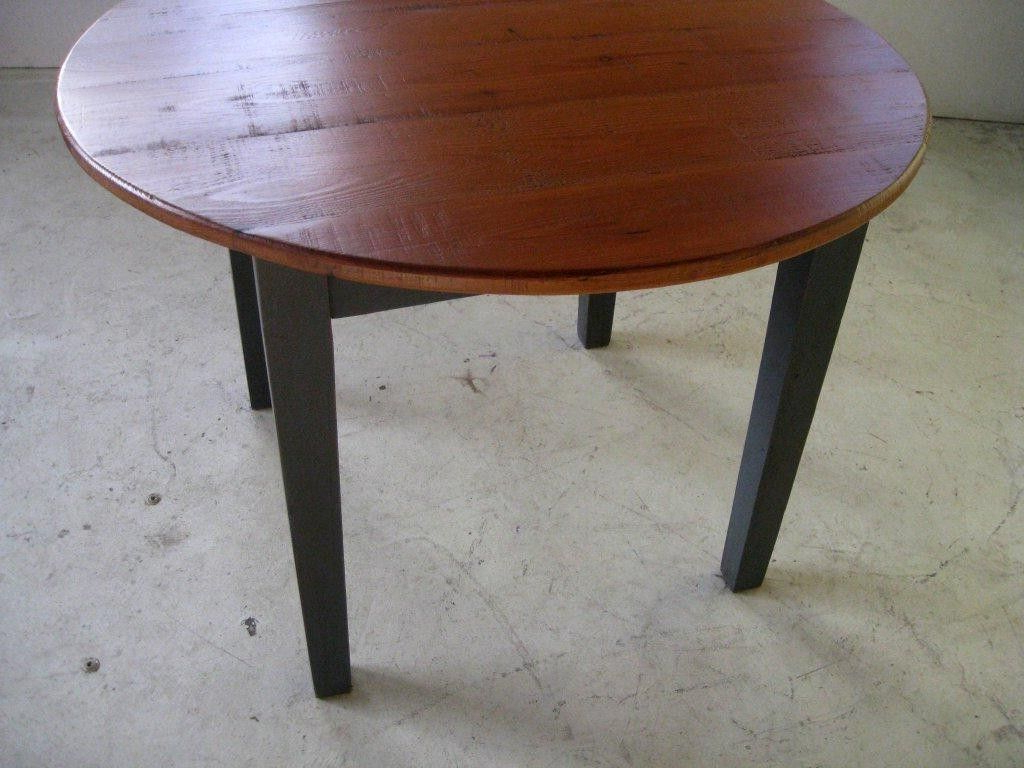 Favorite Small Round Dining Tables With Reclaimed Wood Inside Hand Crafted Small Round Kitchen Dining Table With Pedestal (Gallery 19 of 30)
