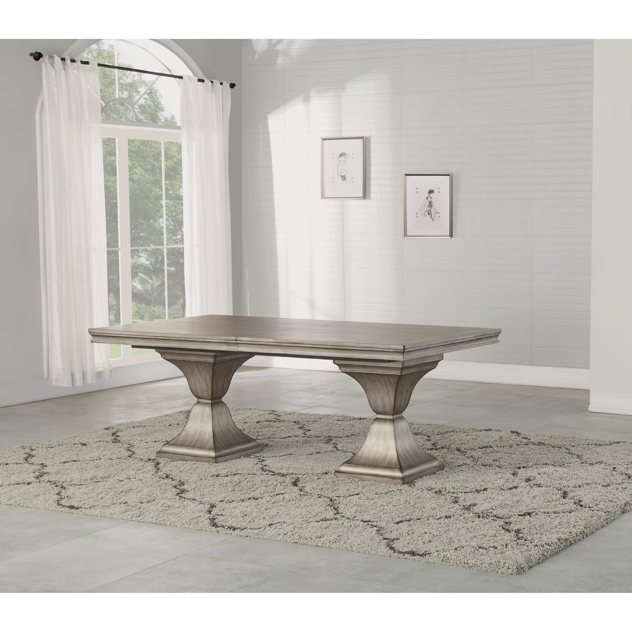Flexsteel Wynwood Collection Vogue Transitional Rectangular Regarding Trendy Transitional Rectangular Dining Tables (Gallery 26 of 30)