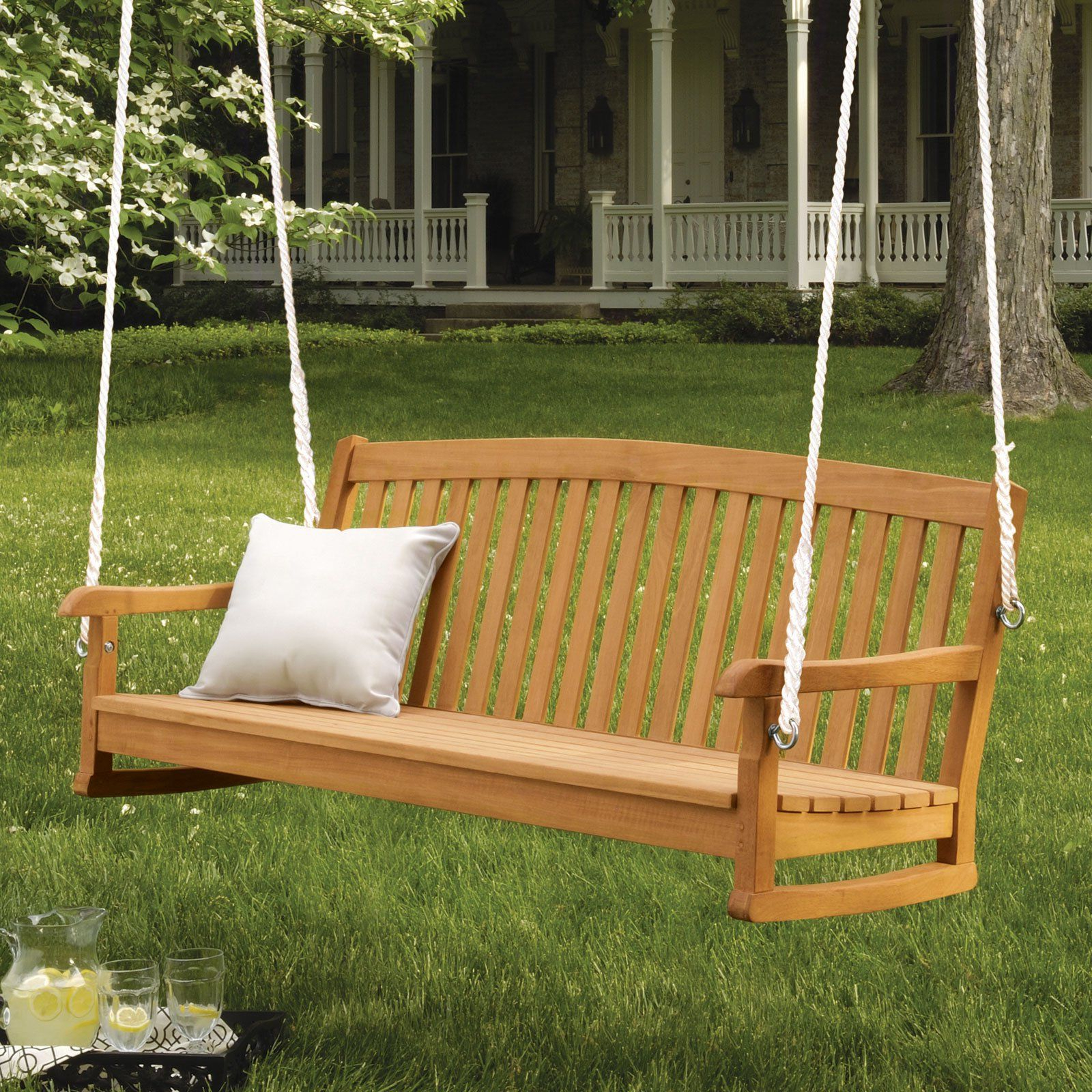 For The Home In Well Liked 5 Ft Cedar Swings With Springs (View 7 of 30)