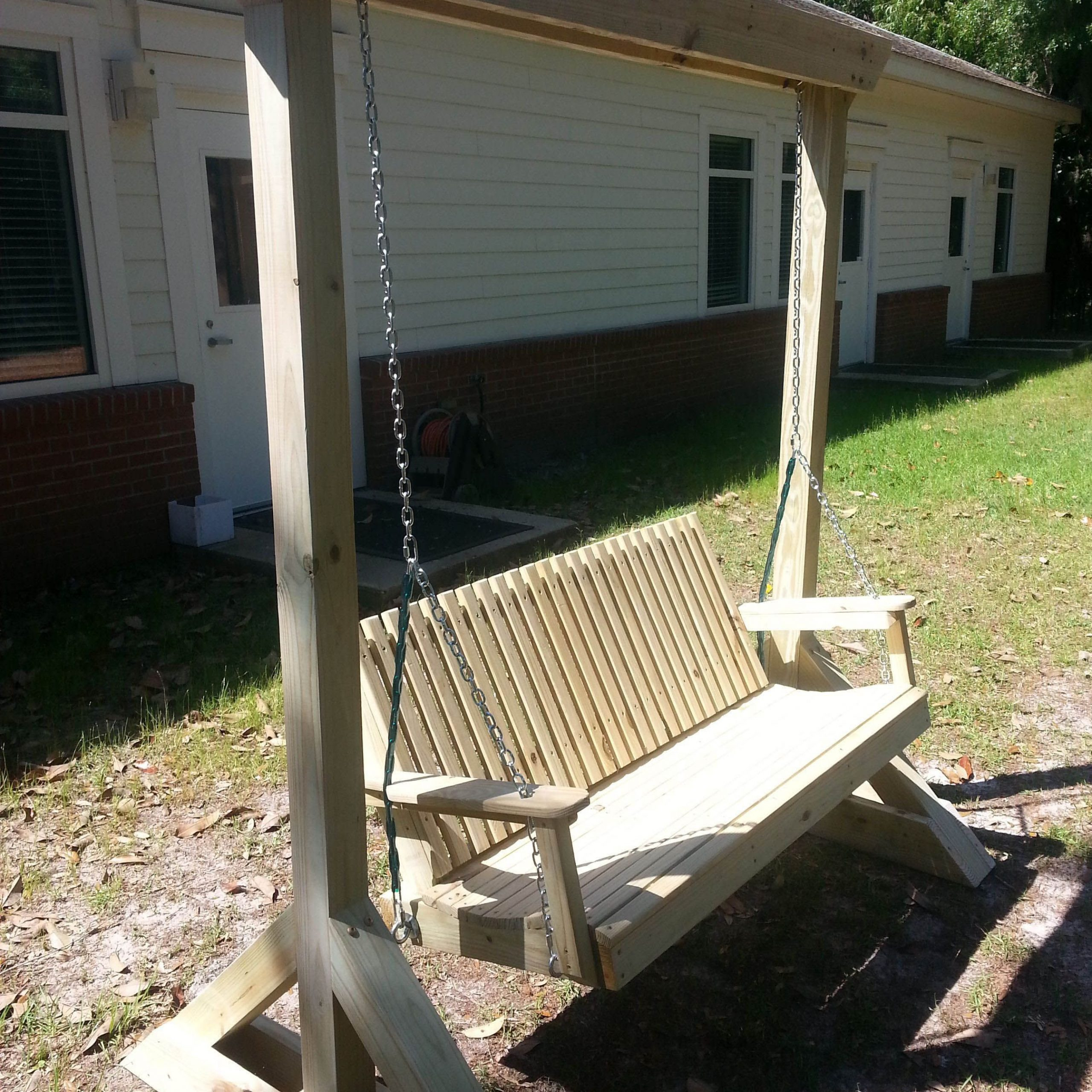 Free Diy Porch Swing Plans & Ideas To Chill In Your Front With Widely Used Porch Swings (Gallery 5 of 30)