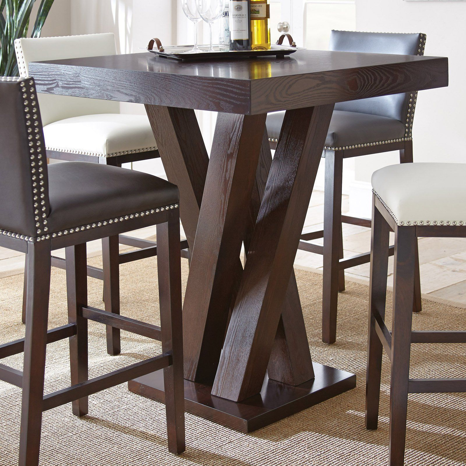 From Intended For Well Liked Patio Square Bar Dining Tables (View 4 of 30)