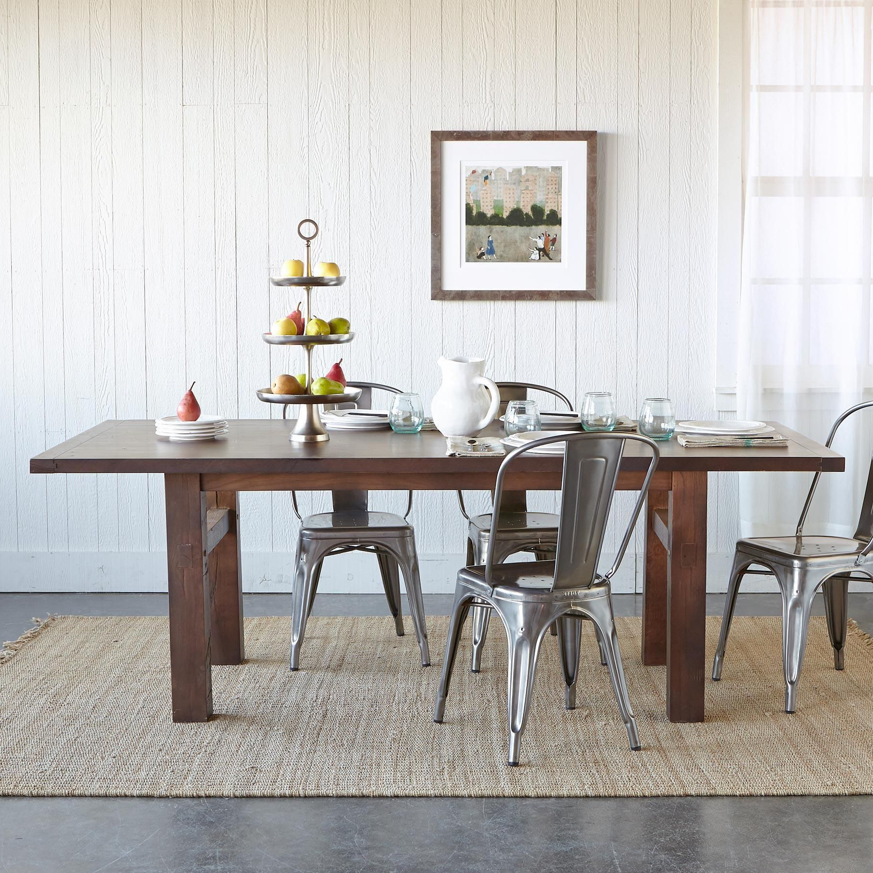 Fumed Oak Dining Tables Intended For Most Popular Oakwood Extension Dining Table (Gallery 16 of 30)