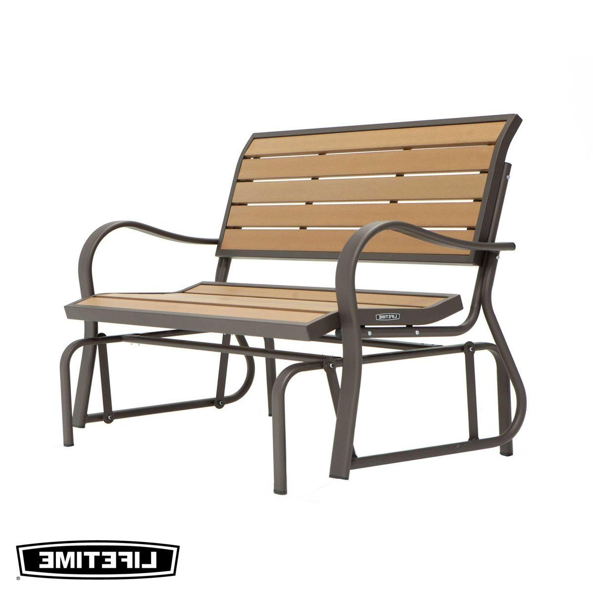 Garden Furniture & Accessories Intended For Well Known Iron Grove Slatted Glider Benches (View 23 of 30)