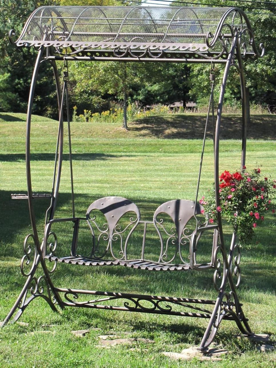 Garden Statues, Garden, Swing Design (View 7 of 30)