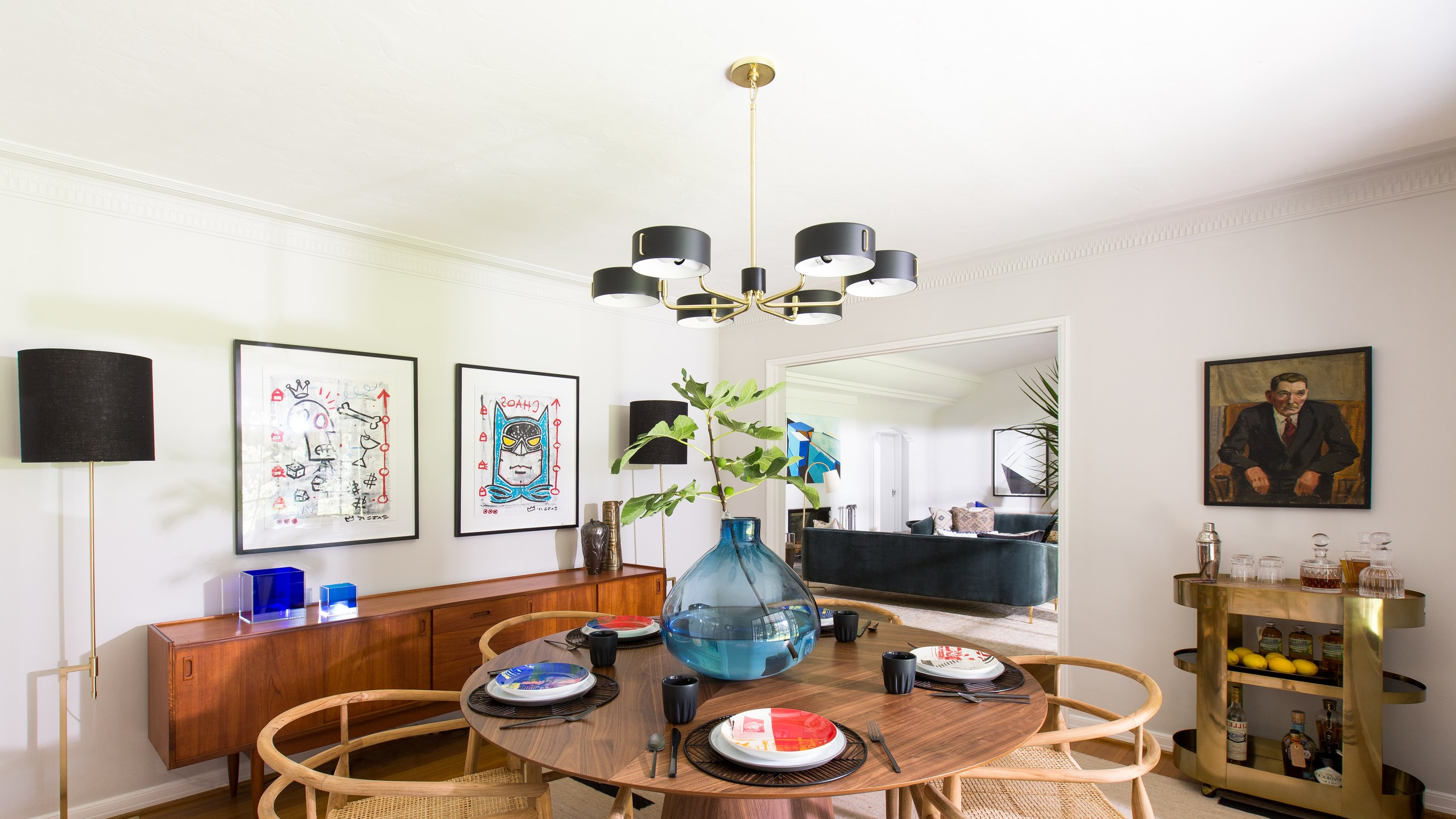Glass Top Condo Dining Tables Inside Most Recent 8 Midcentury Modern Decor & Style Ideas: Tips For Interior (View 9 of 30)