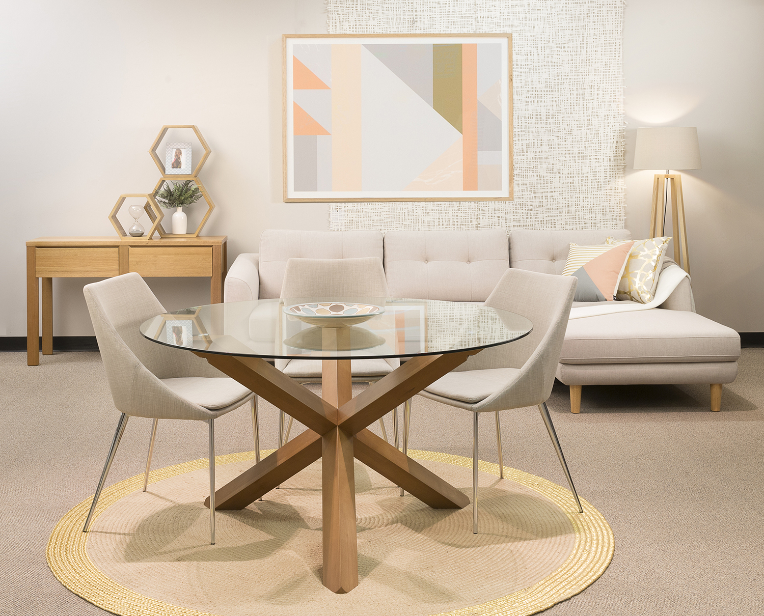 Glass Top Dining Table Sets Style — Doma Kitchen Cafe For Well Liked Modern Round Glass Top Dining Tables (View 30 of 30)