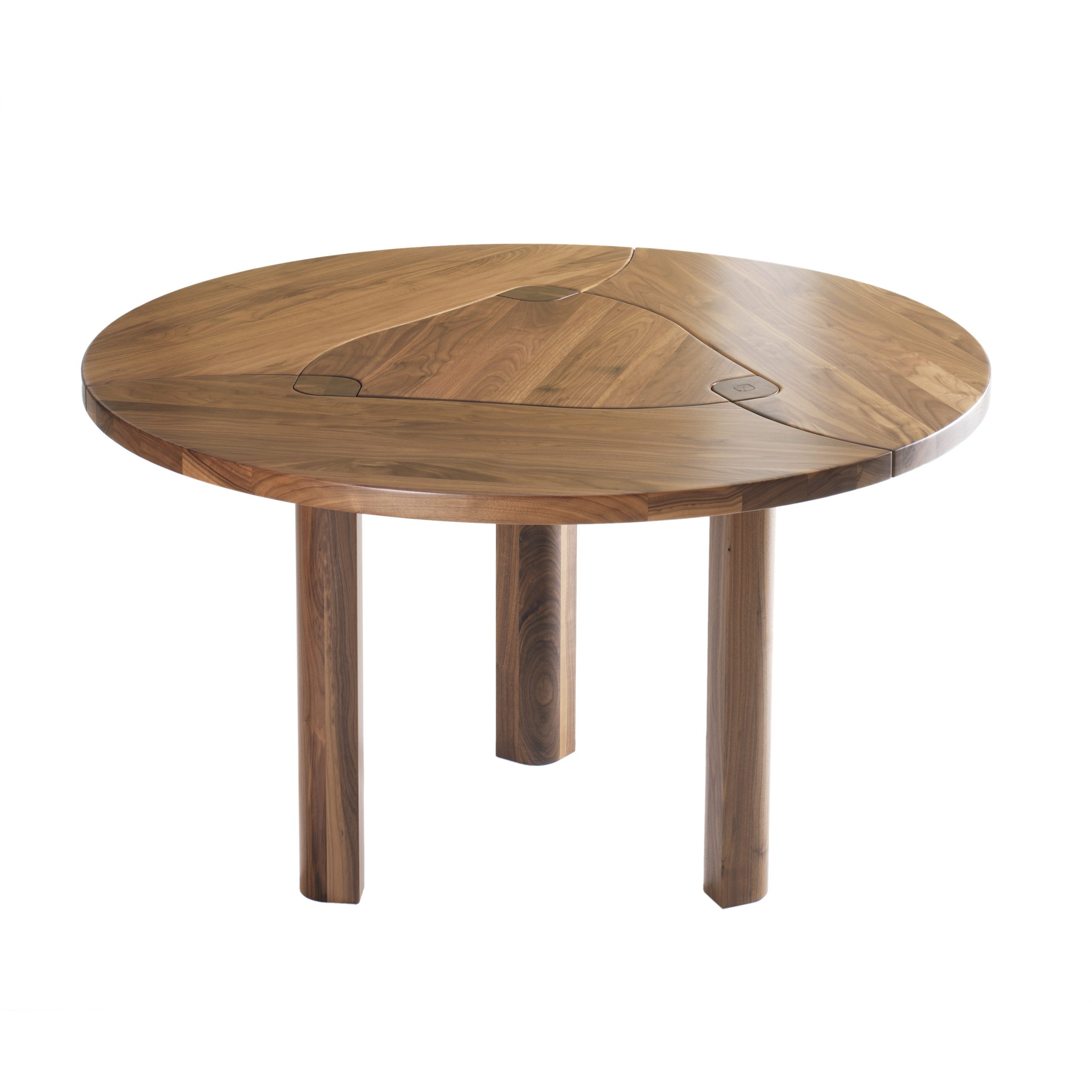 Glass Walnut Dining Table Choice Image – Round Dining Room In Popular Solid Wood Circular Dining Tables White (View 12 of 30)