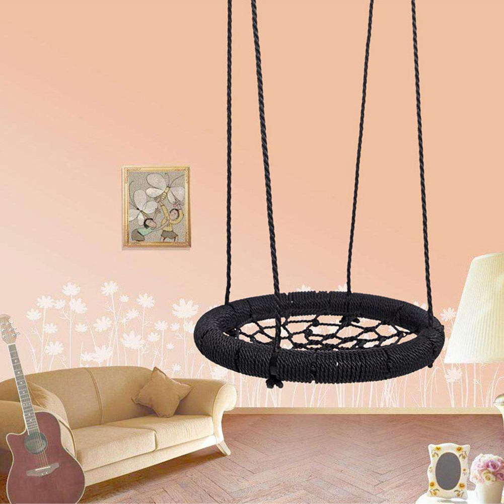 Gmt Sport Kids Spider Web Tree Swing Rope Garden Birds Extra Inside Popular Nest Swings With Adjustable Ropes (View 27 of 30)
