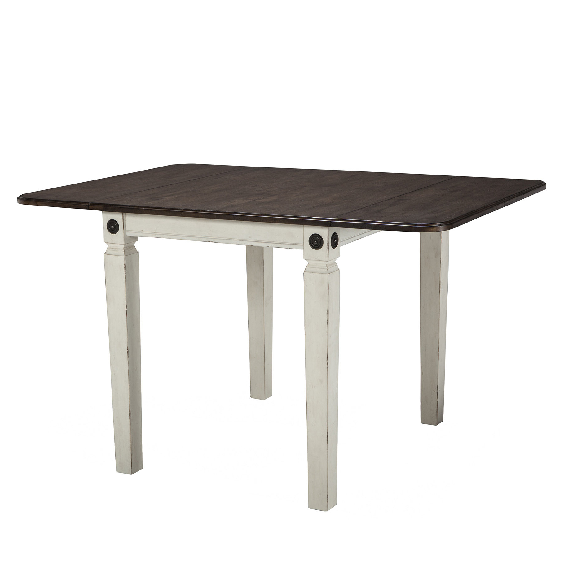 Gracie Oaks Marchan Drop Leaf Solid Wood Dining Table With Recent Unfinished Drop Leaf Casual Dining Tables (View 7 of 30)