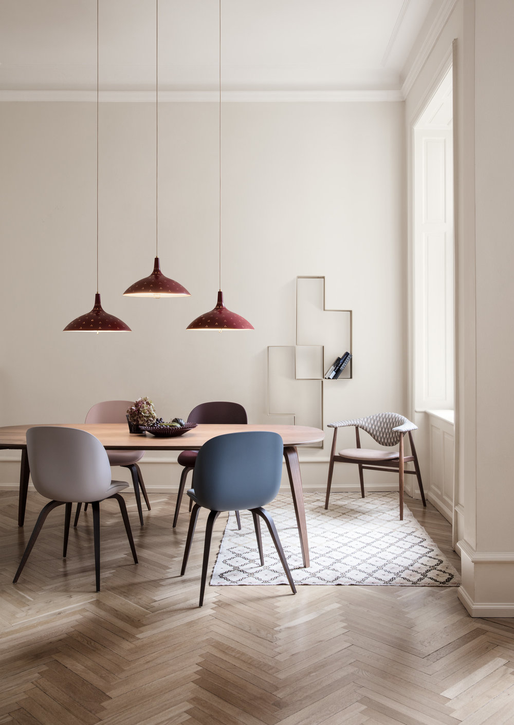 Gubi Dining Table Collection Overview — Gubi Inside 2018 Dining Tables With Stained Ash Walnut (View 21 of 30)