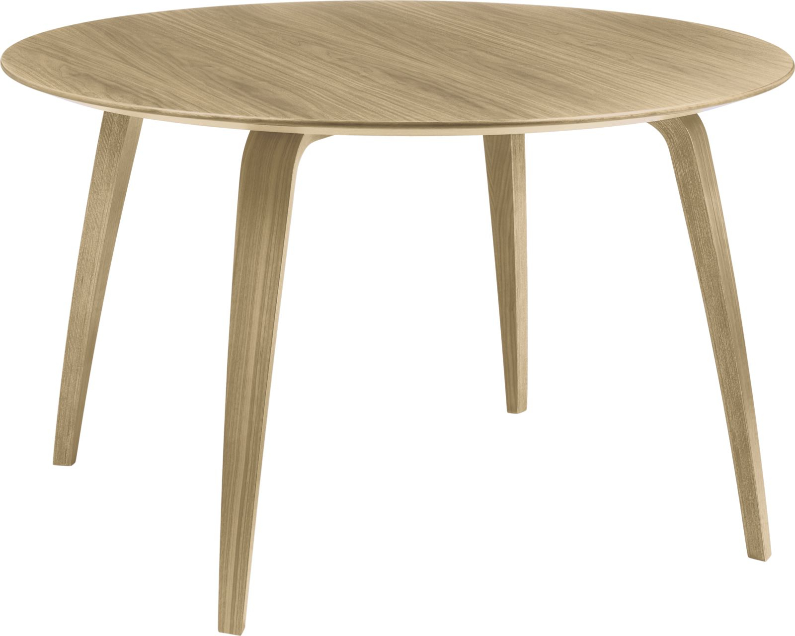 Gubi – Gubi Dining Tables, Round, Rectangular & Elliptical Intended For Current Dining Tables With Stained Ash Walnut (View 10 of 30)
