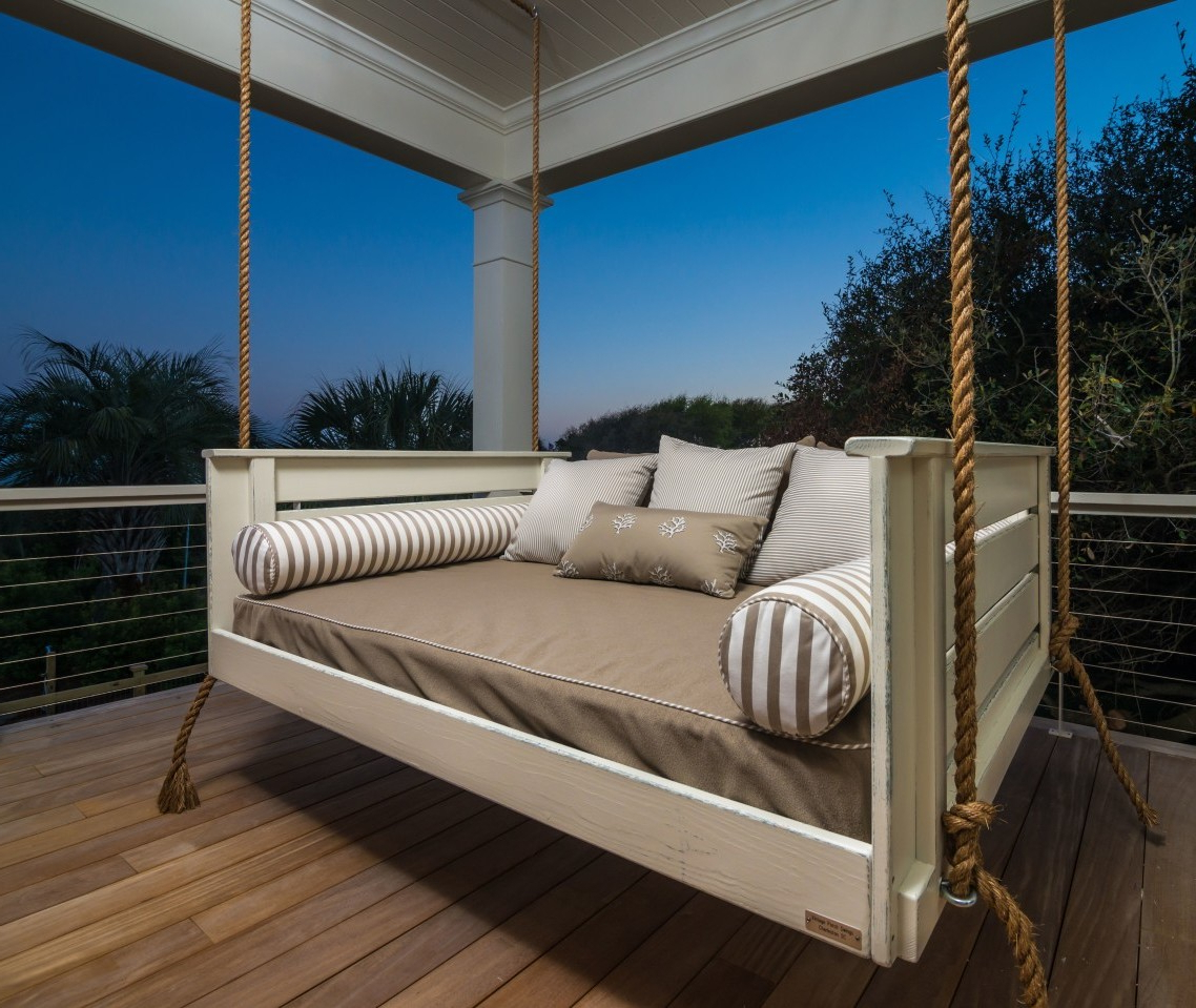 Hanging Custom Rattan Mattress Plans Ideas Crib Cushions With Famous Day Bed Porch Swings (View 26 of 30)