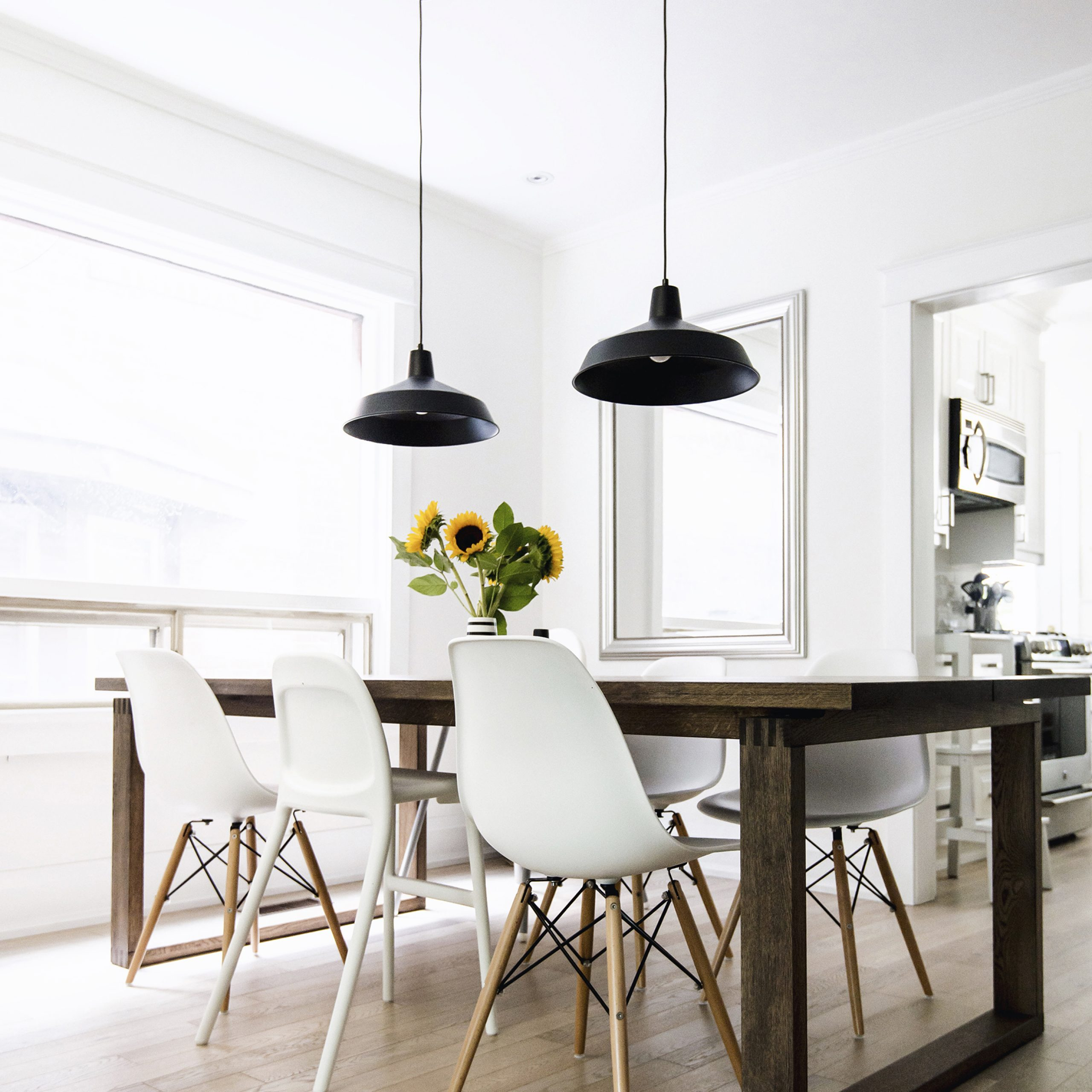 Happy Grey Lucky In Most Current Eames Style Dining Tables With Wooden Legs (View 17 of 30)