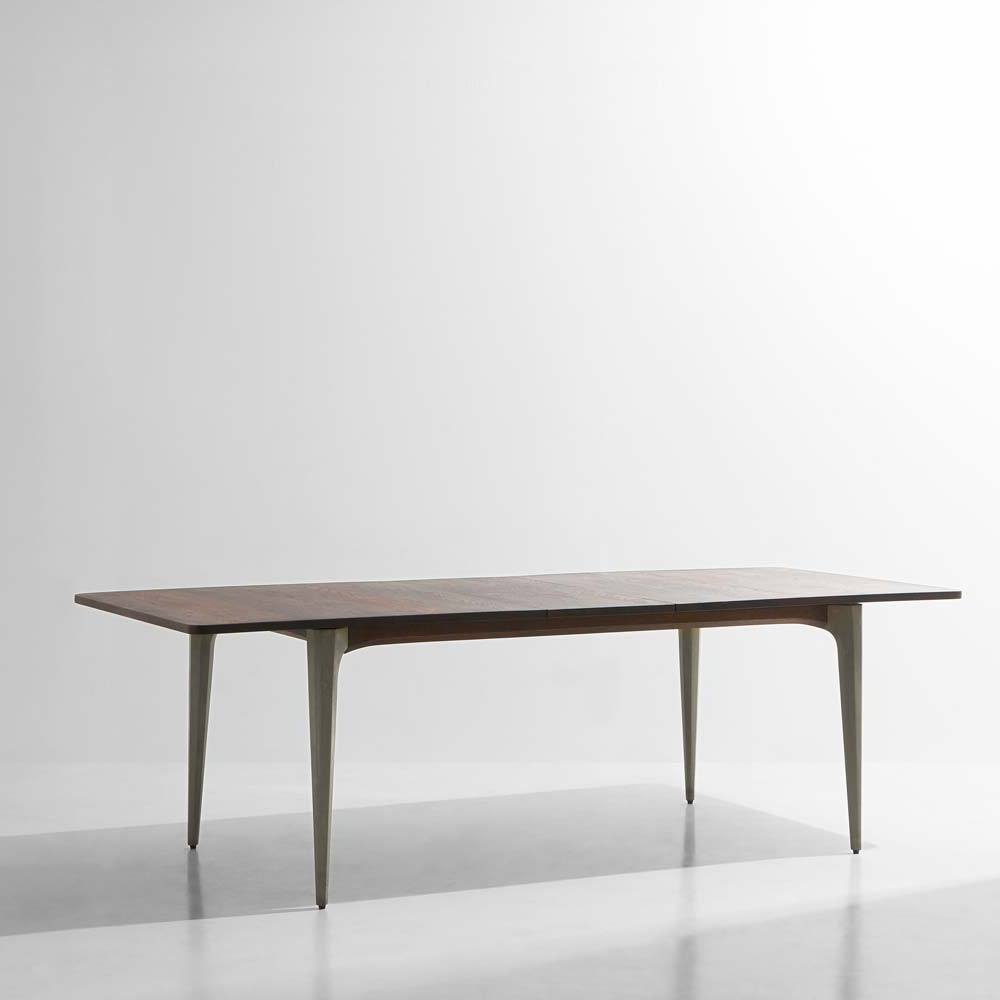 H&h Studio For Fashionable Dining Tables In Smoked Seared Oak (View 5 of 30)