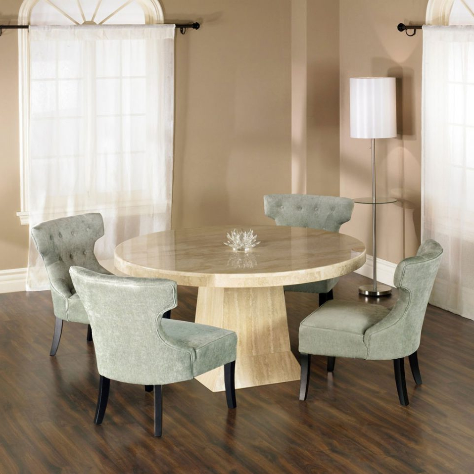 Home And Interior Ideas Elegant Small Round Dining Table Within Trendy Elegance Small Round Dining Tables (View 8 of 30)