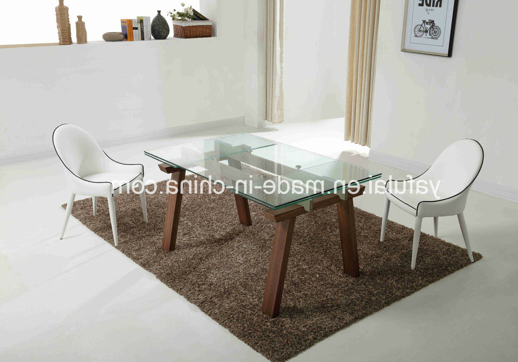 [%[hot Item] Morden Glass Extension Dining Table Solid Wood Dining Furniture Within Trendy Extension Dining Tables|extension Dining Tables Within 2018 [hot Item] Morden Glass Extension Dining Table Solid Wood Dining Furniture|trendy Extension Dining Tables Regarding [hot Item] Morden Glass Extension Dining Table Solid Wood Dining Furniture|most Recent [hot Item] Morden Glass Extension Dining Table Solid Wood Dining Furniture Pertaining To Extension Dining Tables%] (View 24 of 30)