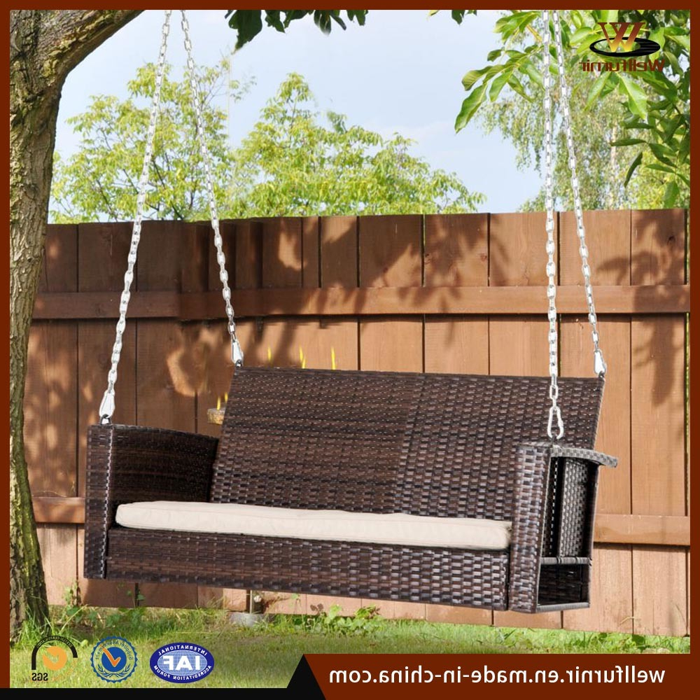 [%[hot Item] Promotions Leisure Garden Hotel Outdoor Patio Rattan & Wicker Swing Chair With Regard To 2019 Rattan Garden Swing Chairs rattan Garden Swing Chairs In Recent [hot Item] Promotions Leisure Garden Hotel Outdoor Patio Rattan & Wicker Swing Chair preferred Rattan Garden Swing Chairs Regarding [hot Item] Promotions Leisure Garden Hotel Outdoor Patio Rattan & Wicker Swing Chair current [hot Item] Promotions Leisure Garden Hotel Outdoor Patio Rattan & Wicker Swing Chair Regarding Rattan Garden Swing Chairs%] (View 28 of 31)