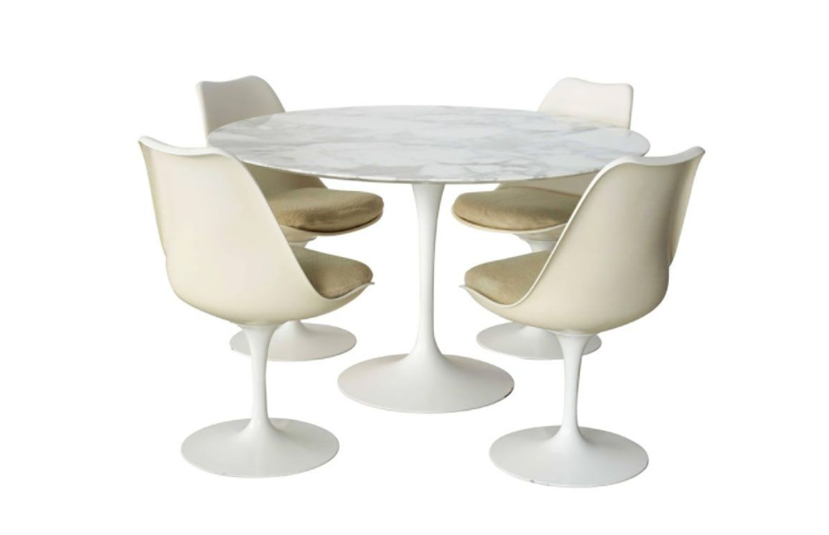 How To Identify A Genuine Saarinen Table Intended For Famous Retro Round Glasstop Dining Tables (View 27 of 30)