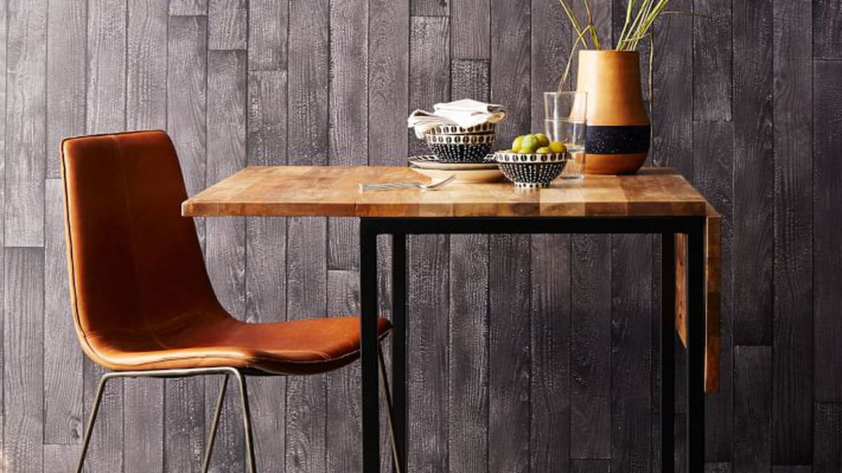 Iron Dining Tables With Mango Wood Pertaining To Most Recent Small Dining Tables For Apartments – Curbed (View 19 of 30)