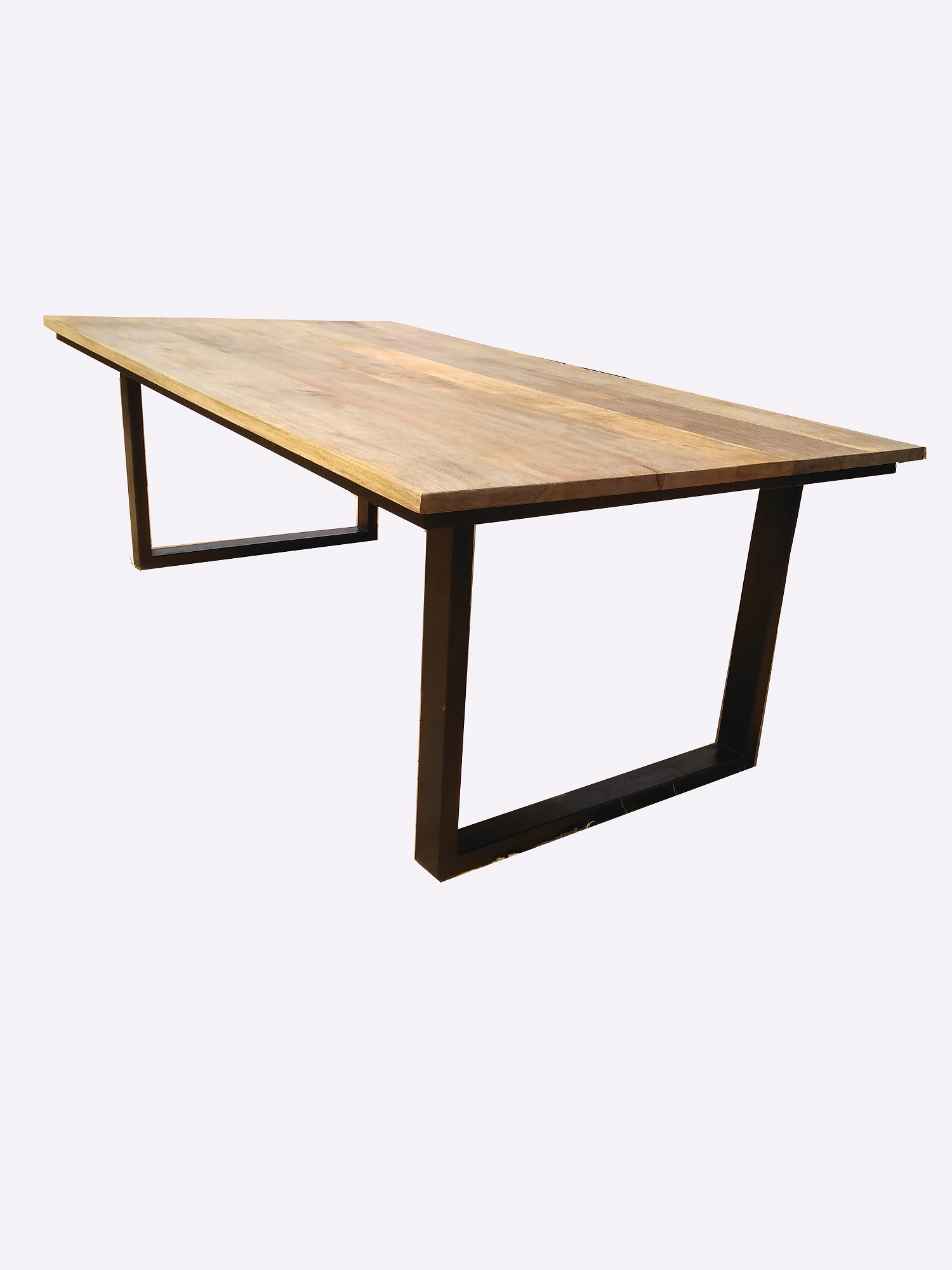 Iron Dining Tables With Mango Wood With Well Liked Lucky Furniture & Handicraftsuae Wooden Furniture Dubai (View 27 of 30)