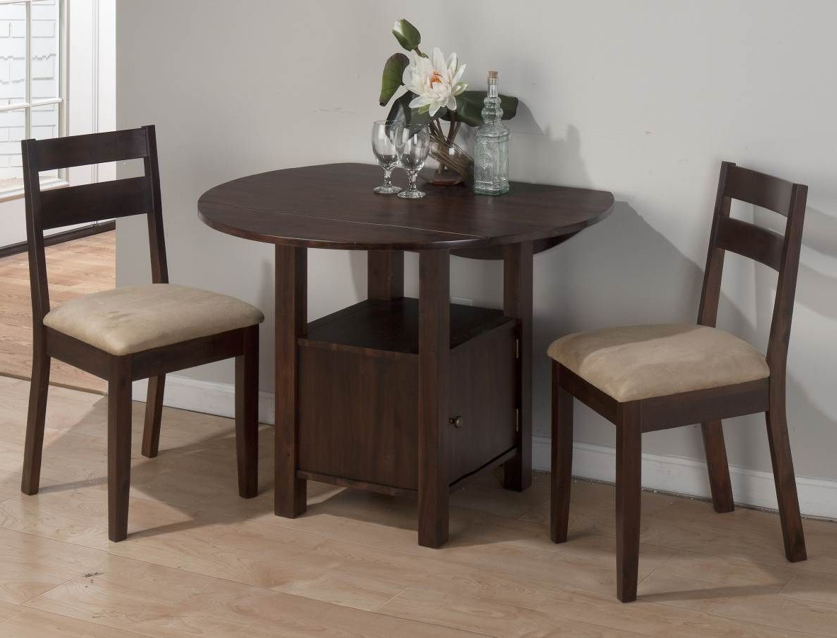 Jofran Bedford Acacia Double Drop Leaf Table W/storage Base Regarding Preferred Transitional 3 Piece Drop Leaf Casual Dining Tables Set (View 8 of 30)