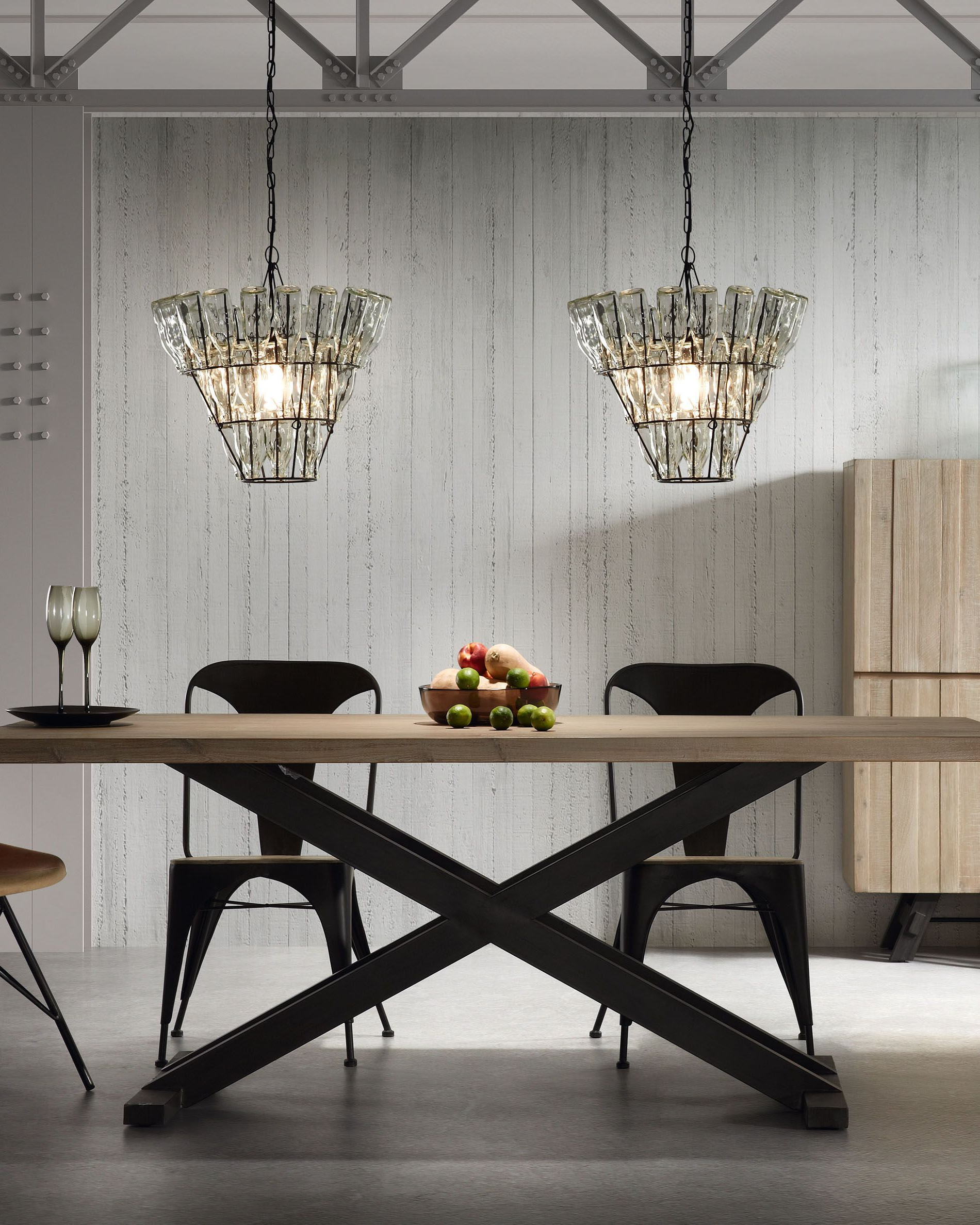 Kave Home With Popular Acacia Dining Tables With Black X Legs (View 14 of 30)