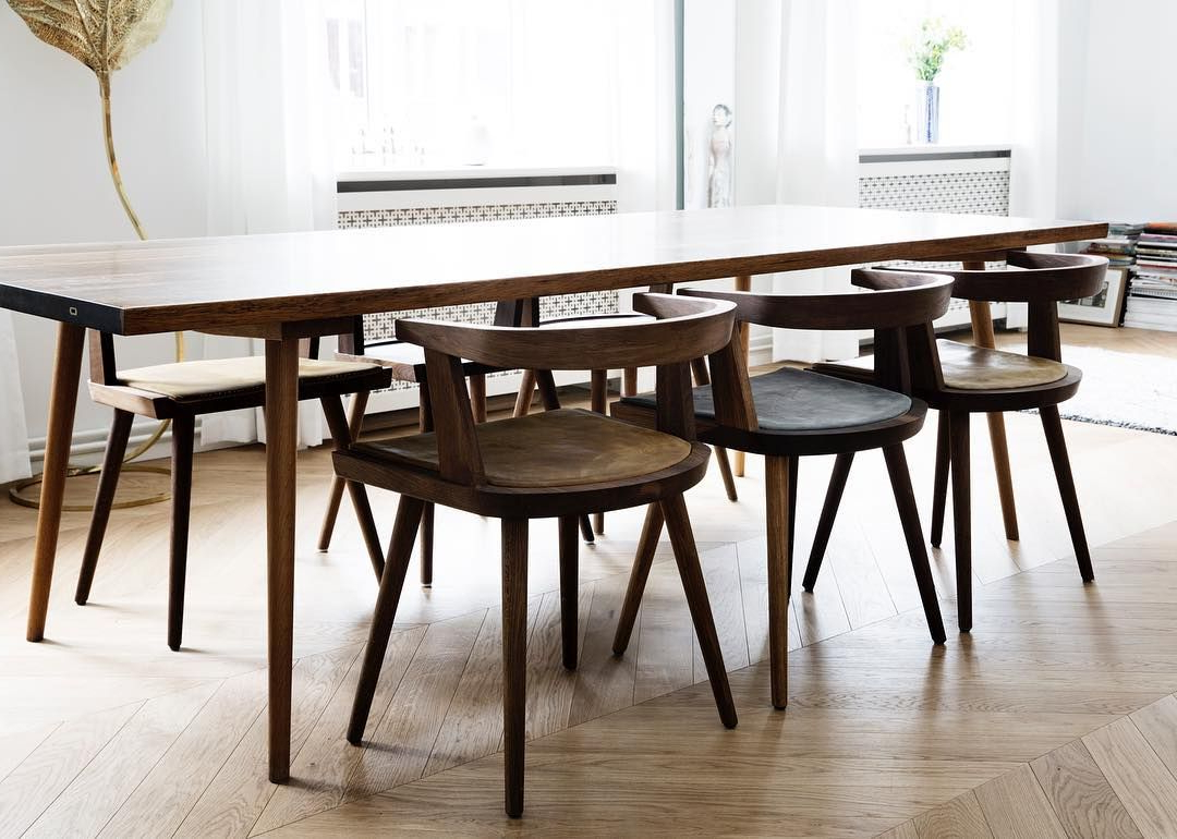Kbh Chairs With Our Handmade Cushions And The Deluxe Kbh For Best And Newest Fumed Oak Dining Tables (View 23 of 30)