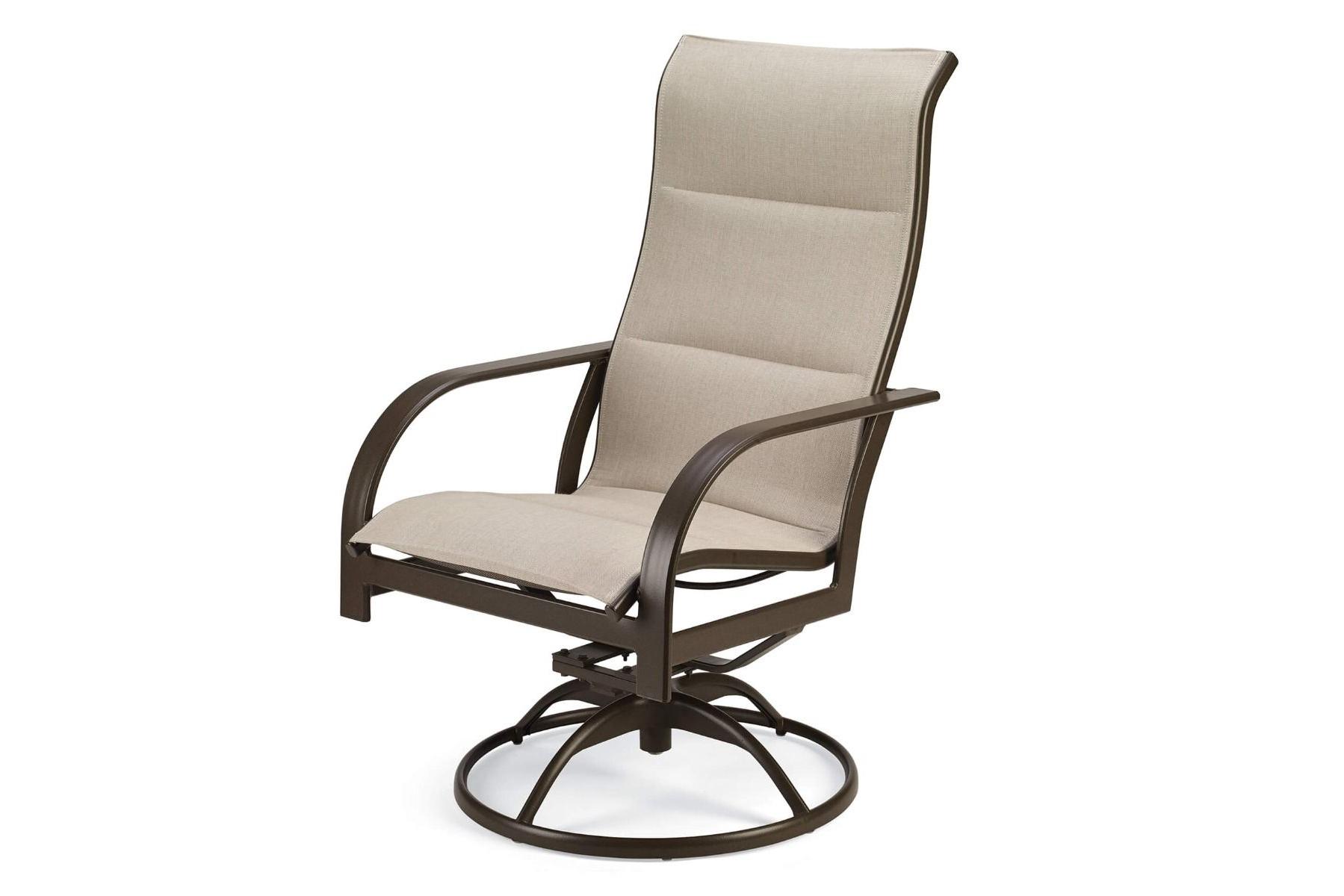 Key West Padded Sling Ultimate High Back Swivel Tilt Chair (2pk) Regarding Best And Newest Padded Sling High Back Swivel Chairs (View 3 of 30)