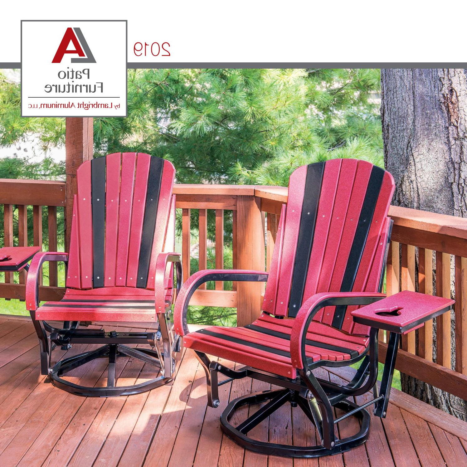 La Patio Furnitureonlineamishfurniture – Issuu With Best And Newest Aluminum Outdoor Double Glider Benches (View 17 of 30)